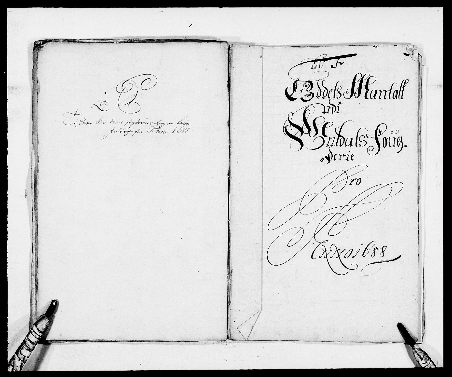 RA, Rentekammeret inntil 1814, Reviderte regnskaper, Fogderegnskap, R59/L3939: Fogderegnskap Gauldal, 1687-1688, s. 207