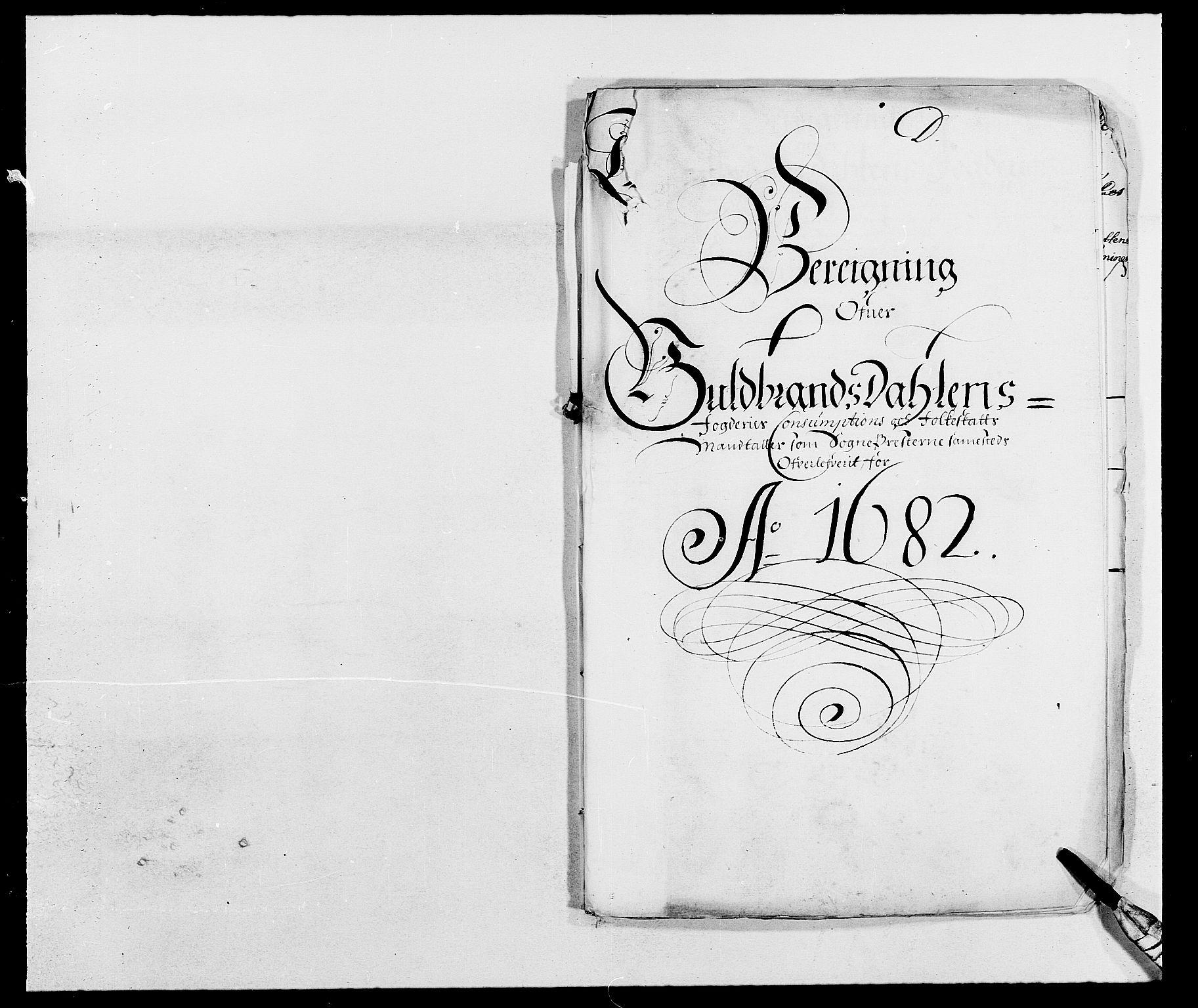 RA, Rentekammeret inntil 1814, Reviderte regnskaper, Fogderegnskap, R17/L1157: Fogderegnskap Gudbrandsdal, 1682-1689, s. 295