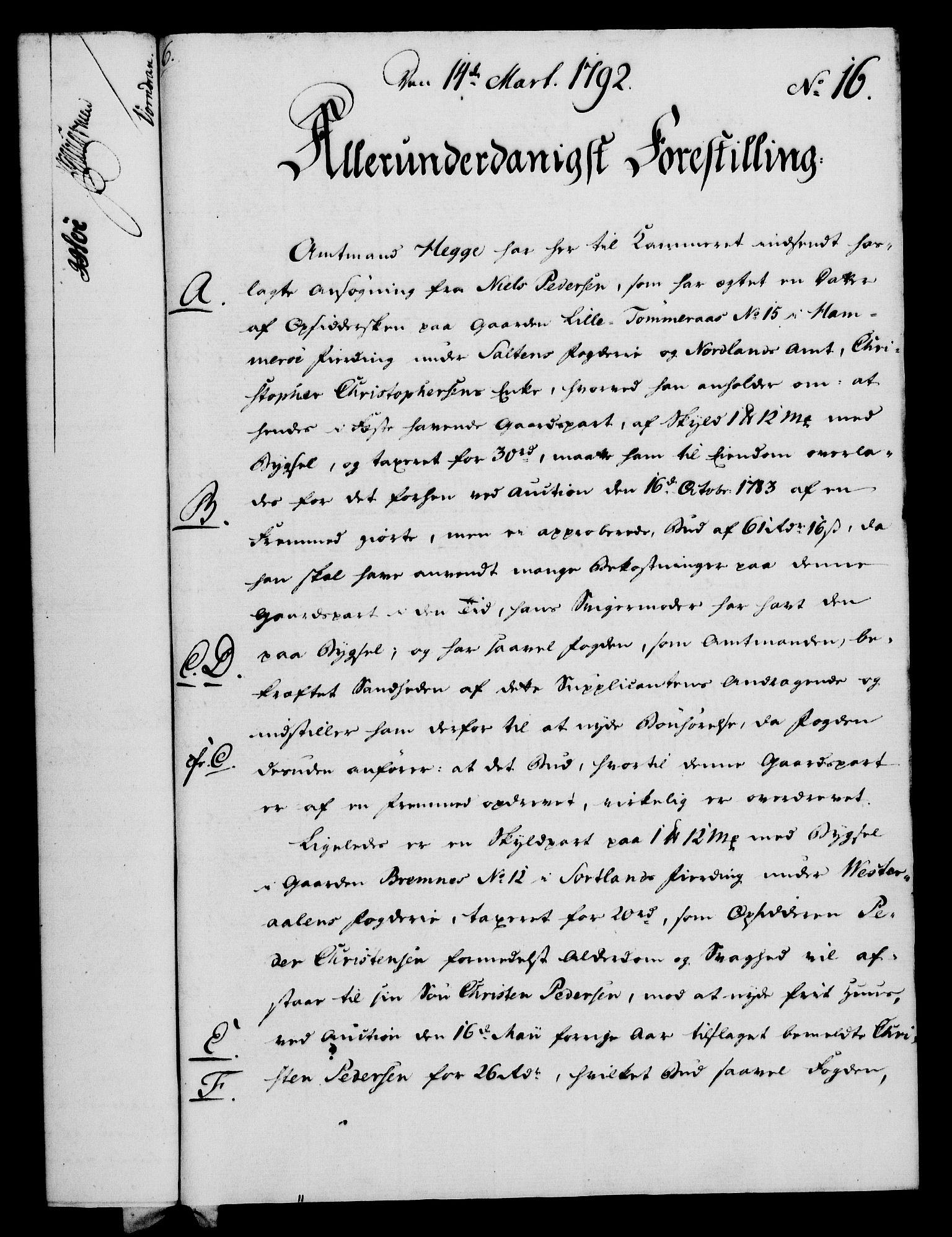 RA, Rentekammeret, Kammerkanselliet, G/Gf/Gfa/L0074: Norsk relasjons- og resolusjonsprotokoll (merket RK 52.74), 1792, s. 108