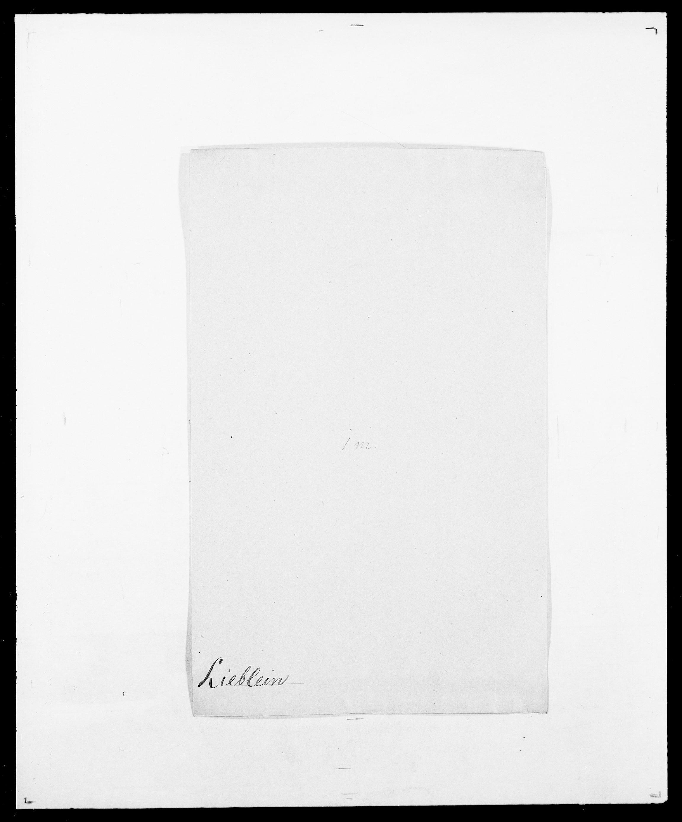SAO, Delgobe, Charles Antoine - samling, D/Da/L0023: Lau - Lirvyn, s. 364