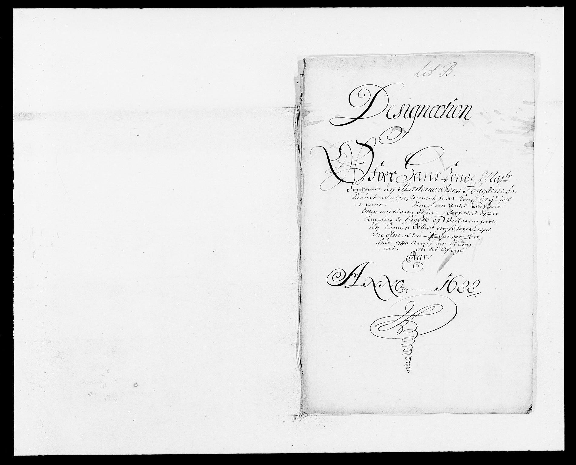 RA, Rentekammeret inntil 1814, Reviderte regnskaper, Fogderegnskap, R16/L1029: Fogderegnskap Hedmark, 1688, s. 222