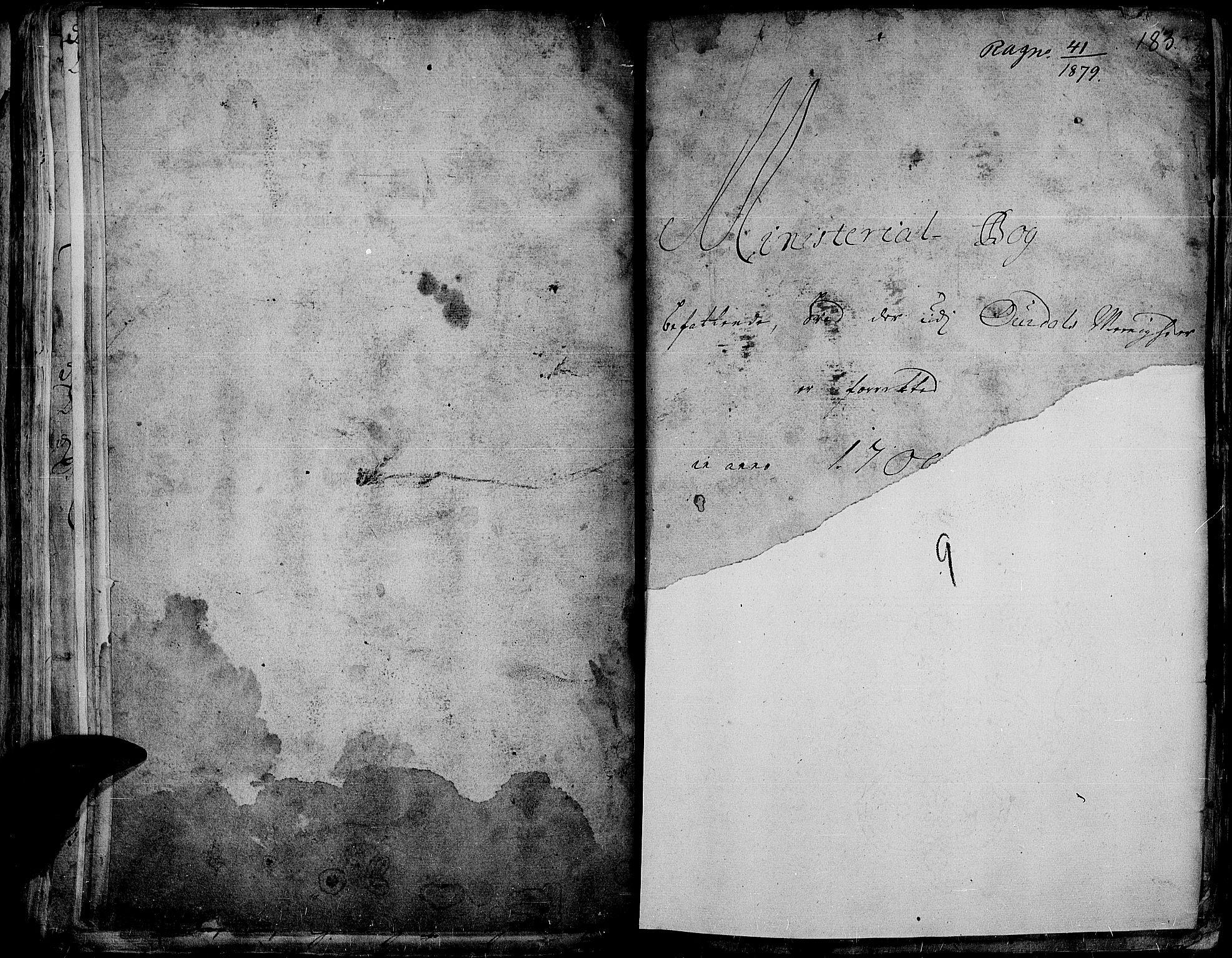SAH, Aurdal prestekontor, Ministerialbok nr. 1-3, 1692-1730, s. 183