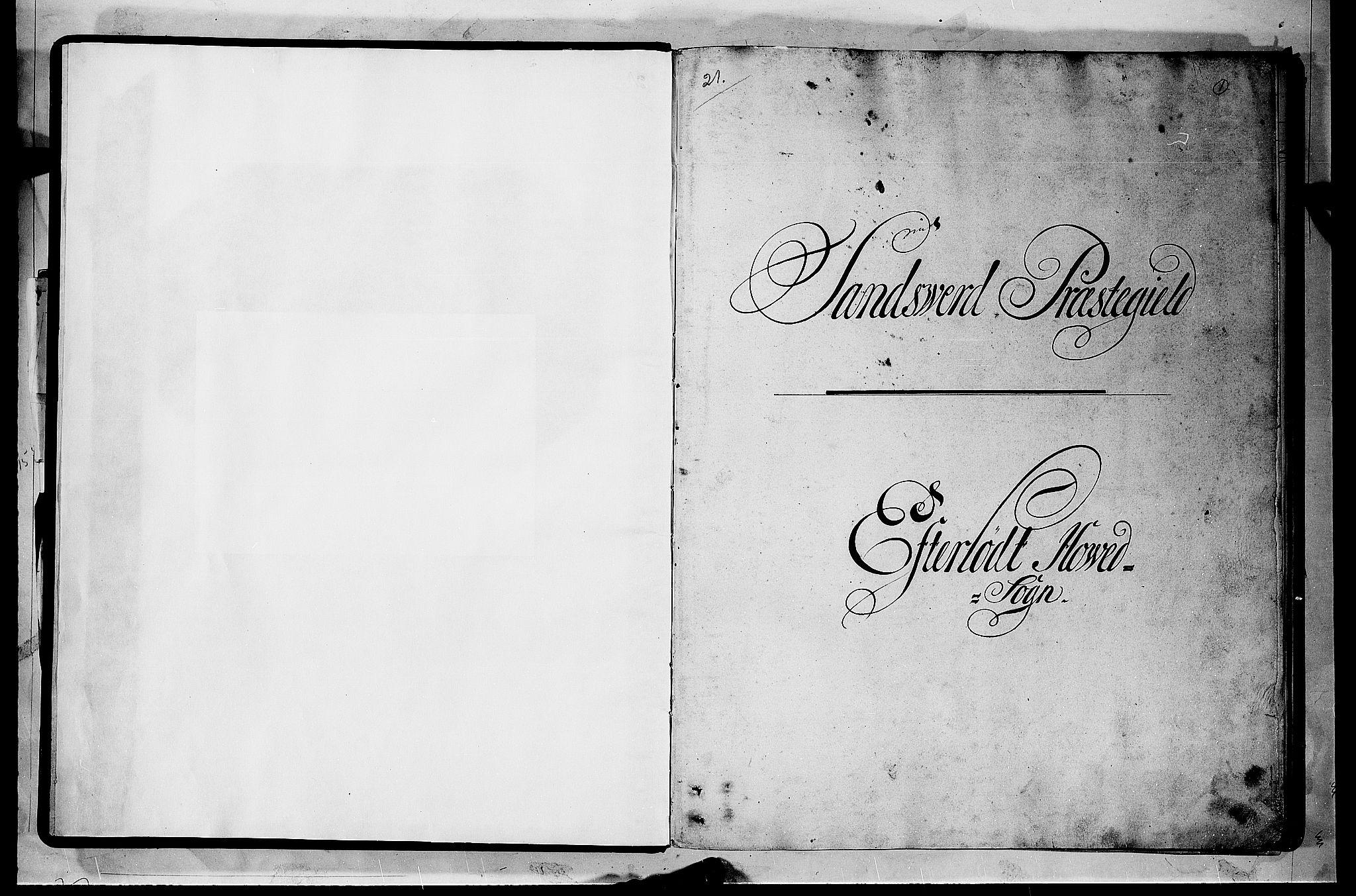 RA, Rentekammeret inntil 1814, Realistisk ordnet avdeling, N/Nb/Nbf/L0114: Numedal og Sandsvær matrikkelprotokoll, 1723, s. 1a