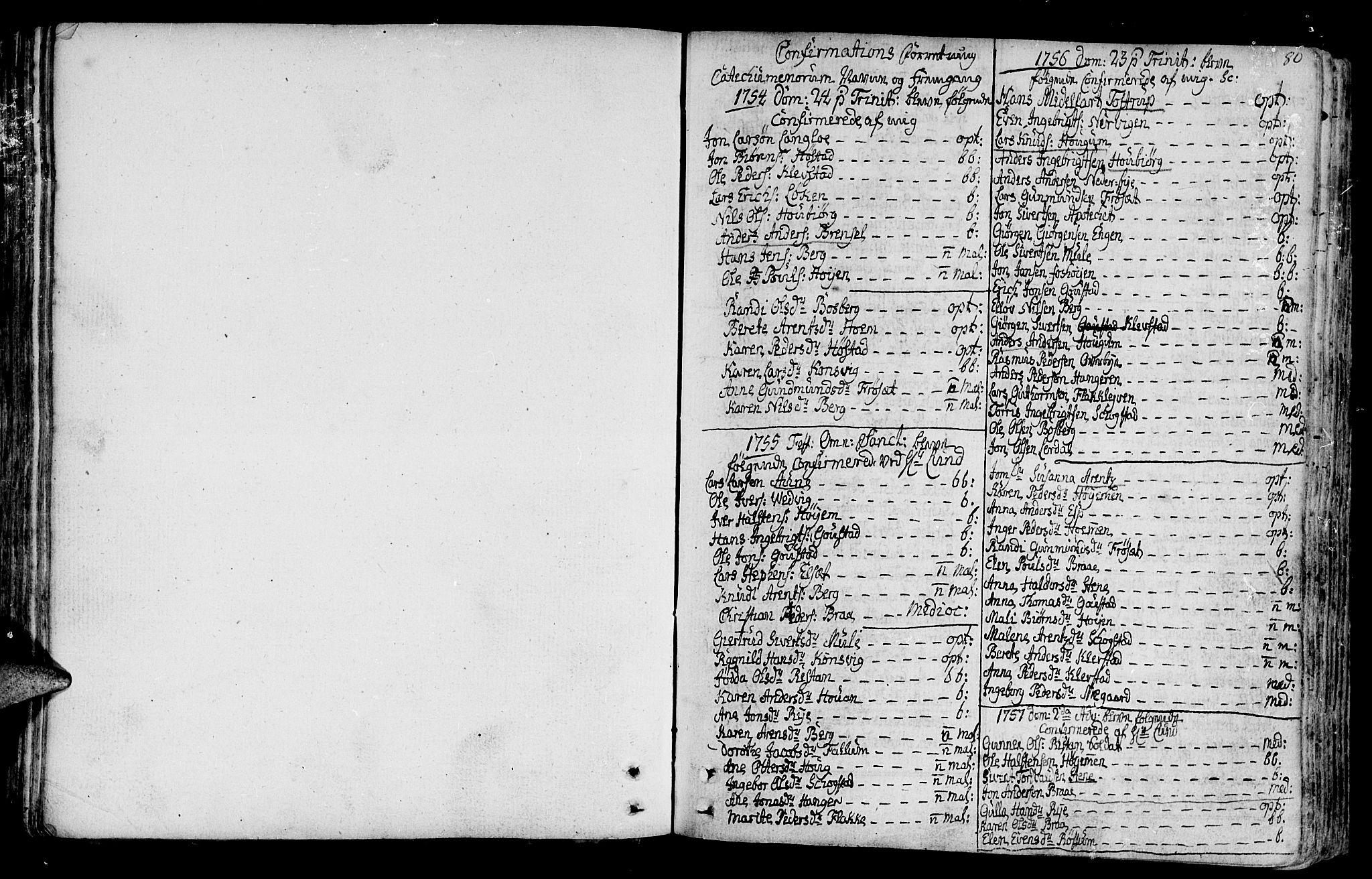 SAT, Ministerialprotokoller, klokkerbøker og fødselsregistre - Sør-Trøndelag, 612/L0370: Ministerialbok nr. 612A04, 1754-1802, s. 80