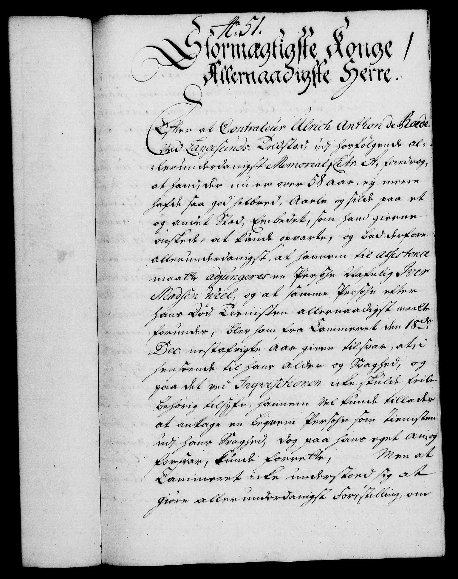 RA, Rentekammeret, Kammerkanselliet, G/Gf/Gfa/L0018: Norsk relasjons- og resolusjonsprotokoll (merket RK 52.18), 1735, s. 357