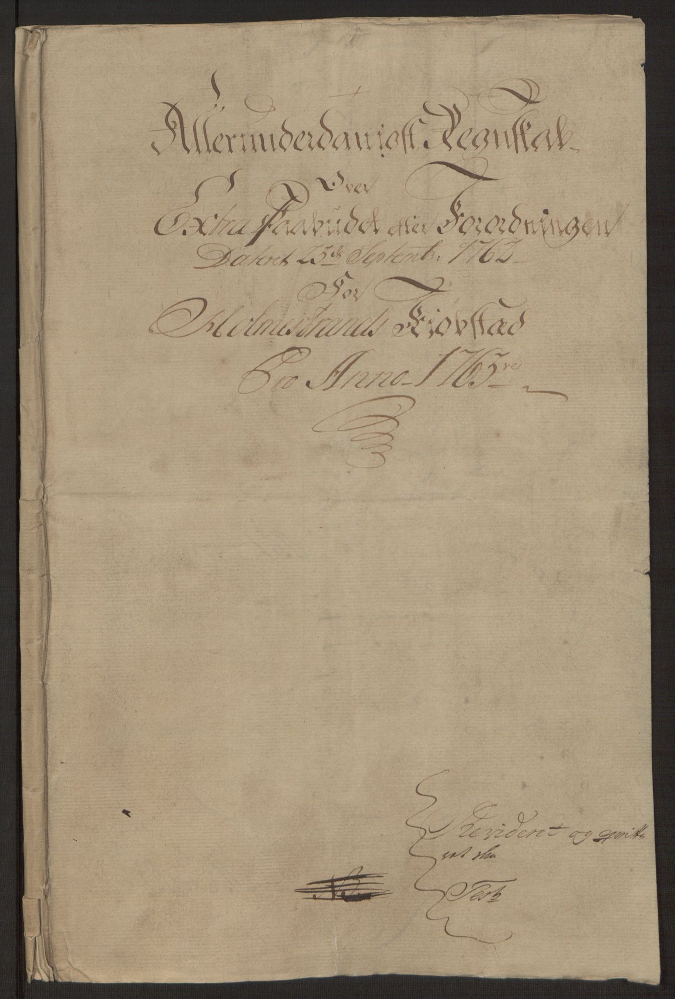 RA, Rentekammeret inntil 1814, Reviderte regnskaper, Byregnskaper, R/Rh/L0163: [H4] Kontribusjonsregnskap, 1762-1772, s. 31