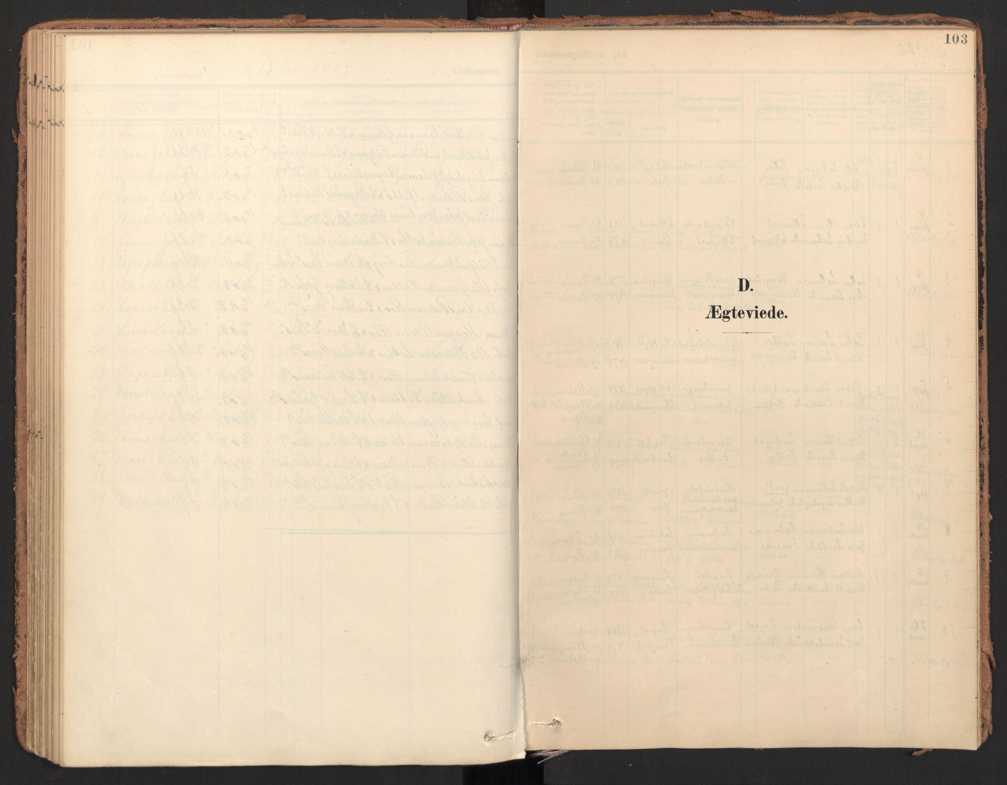 SAT, Ministerialprotokoller, klokkerbøker og fødselsregistre - Møre og Romsdal, 596/L1057: Ministerialbok nr. 596A02, 1900-1917, s. 103