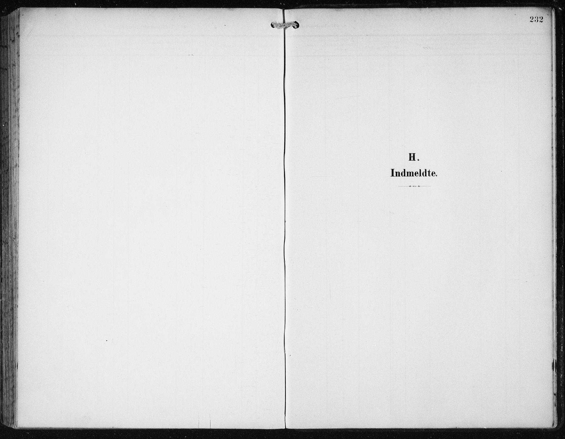 SAB, Fana Sokneprestembete, H/Haa/Haai/L0003: Ministerialbok nr. I 3, 1900-1912, s. 232