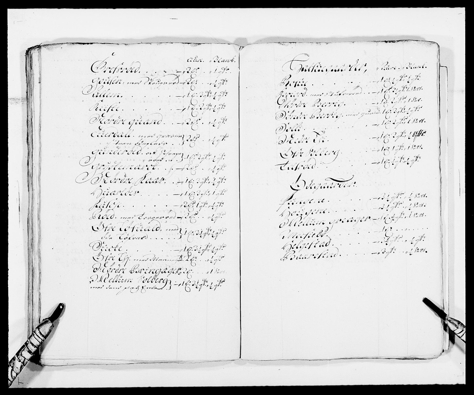 RA, Rentekammeret inntil 1814, Reviderte regnskaper, Fogderegnskap, R32/L1857: Fogderegnskap Jarlsberg grevskap, 1686-1690, s. 356