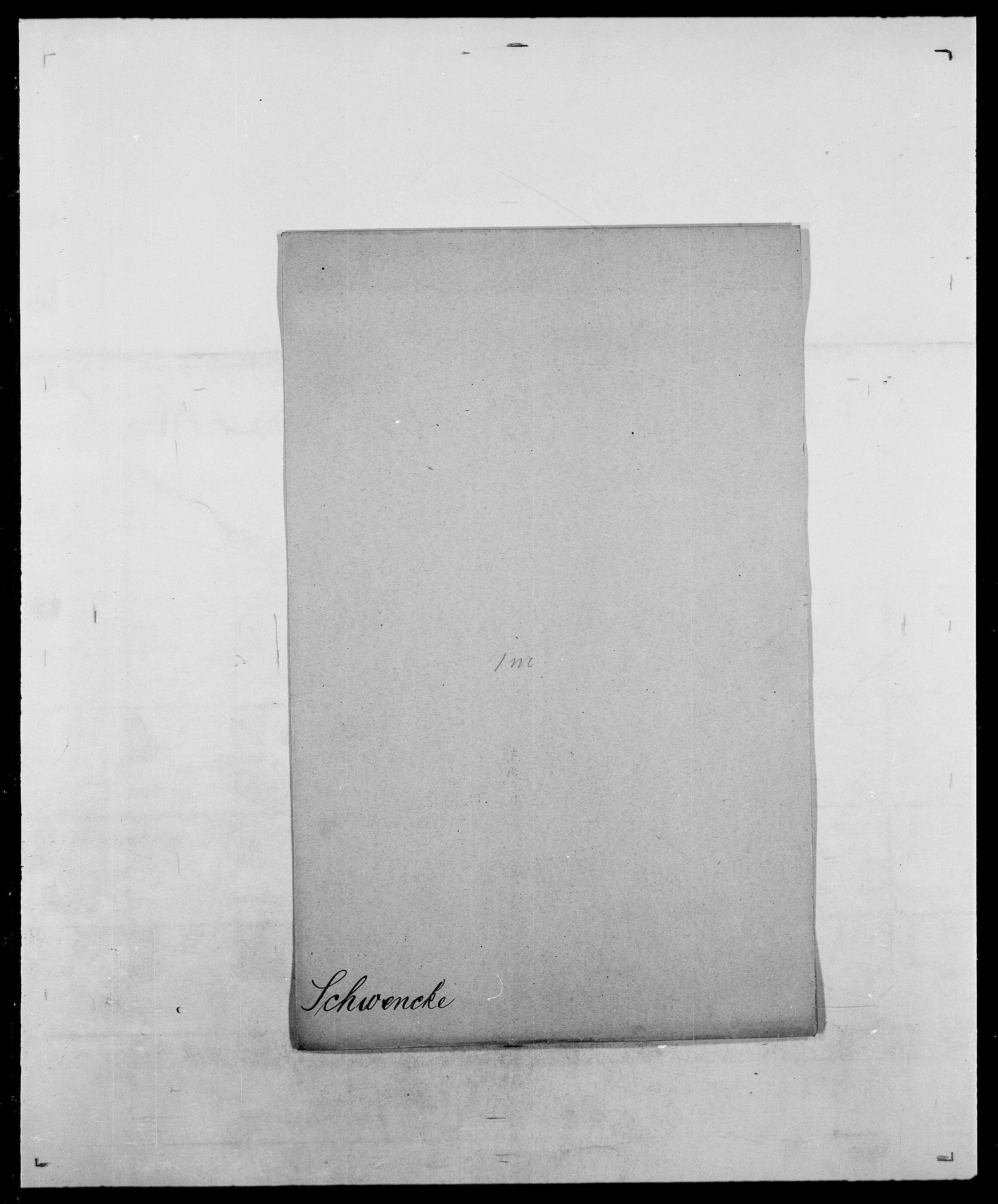 SAO, Delgobe, Charles Antoine - samling, D/Da/L0035: Schnabel - sjetman, s. 410