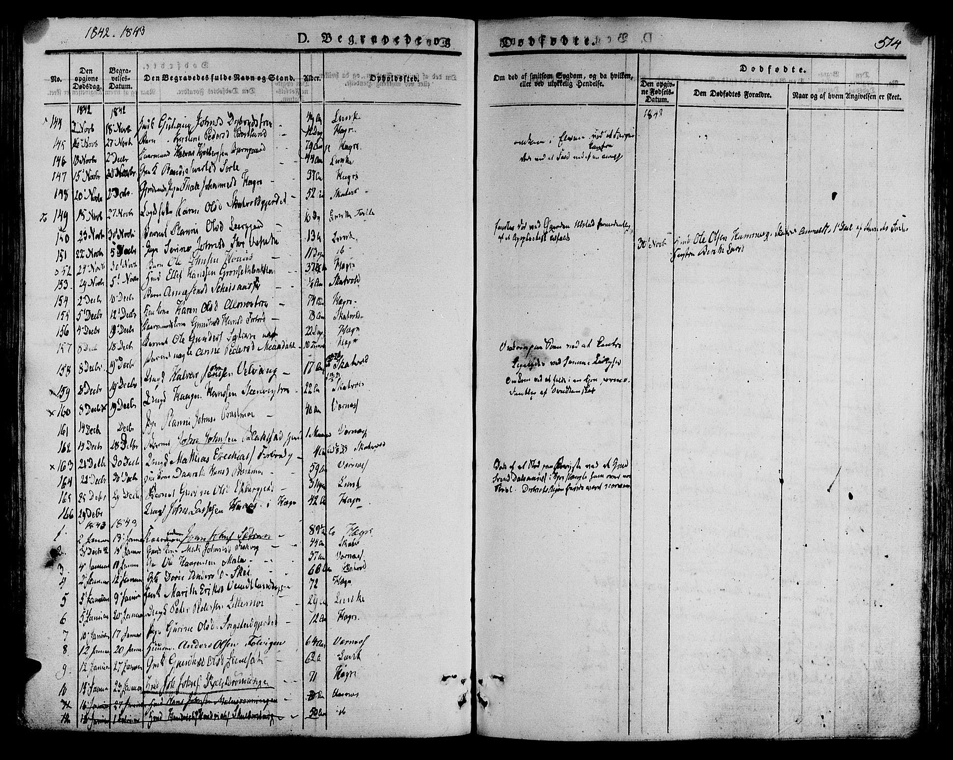 SAT, Ministerialprotokoller, klokkerbøker og fødselsregistre - Nord-Trøndelag, 709/L0072: Ministerialbok nr. 709A12, 1833-1844, s. 514