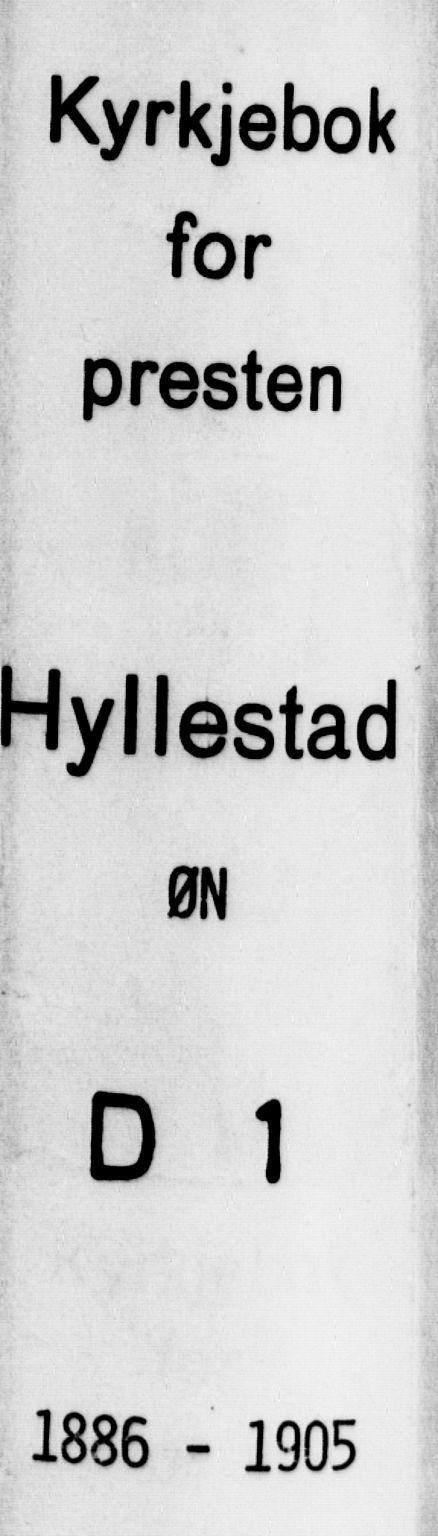 SAB, Hyllestad Sokneprestembete, Ministerialbok nr. D 1, 1886-1905