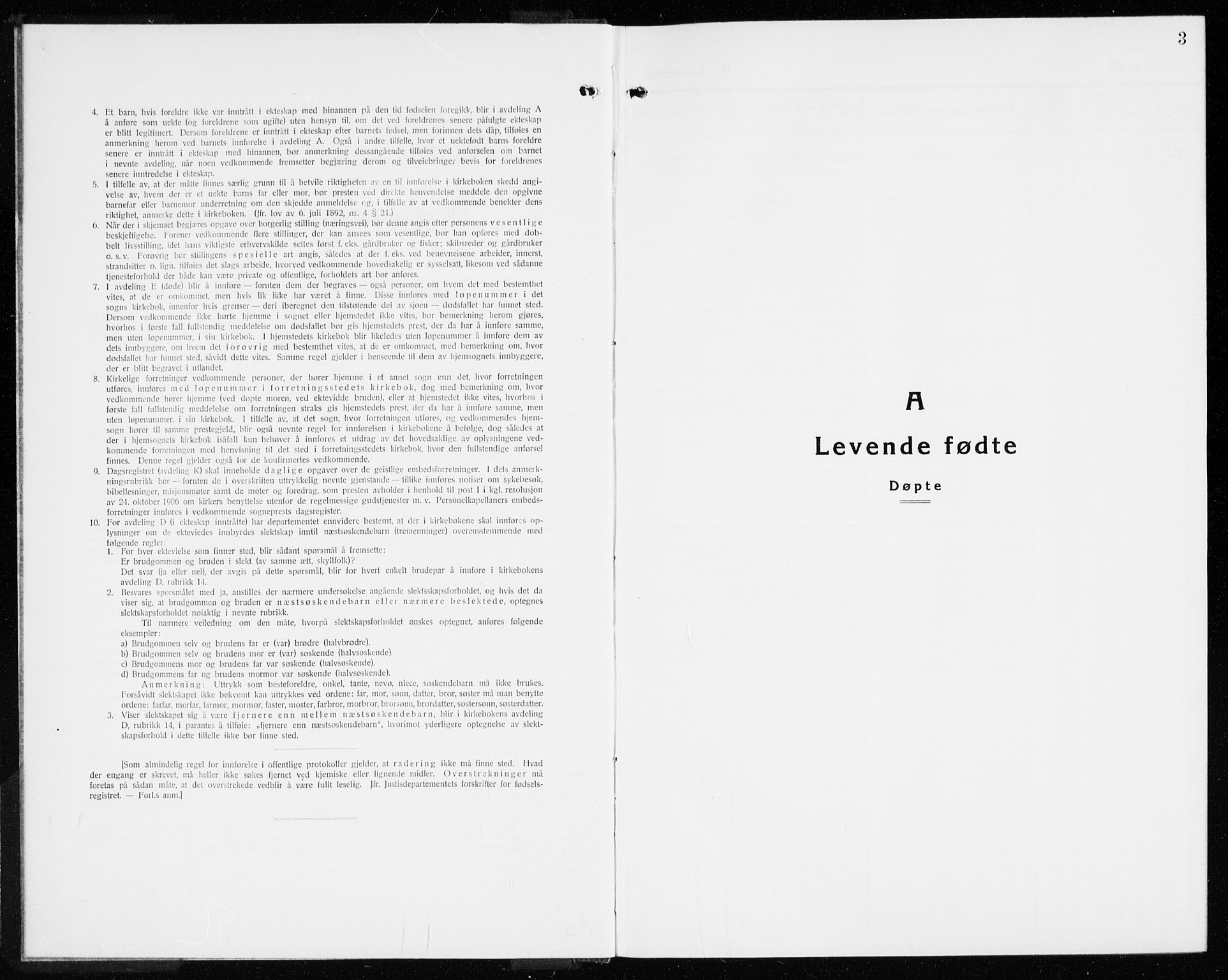 SAKO, Lier kirkebøker, G/Gb/L0005: Klokkerbok nr. II 5, 1932-1942, s. 3