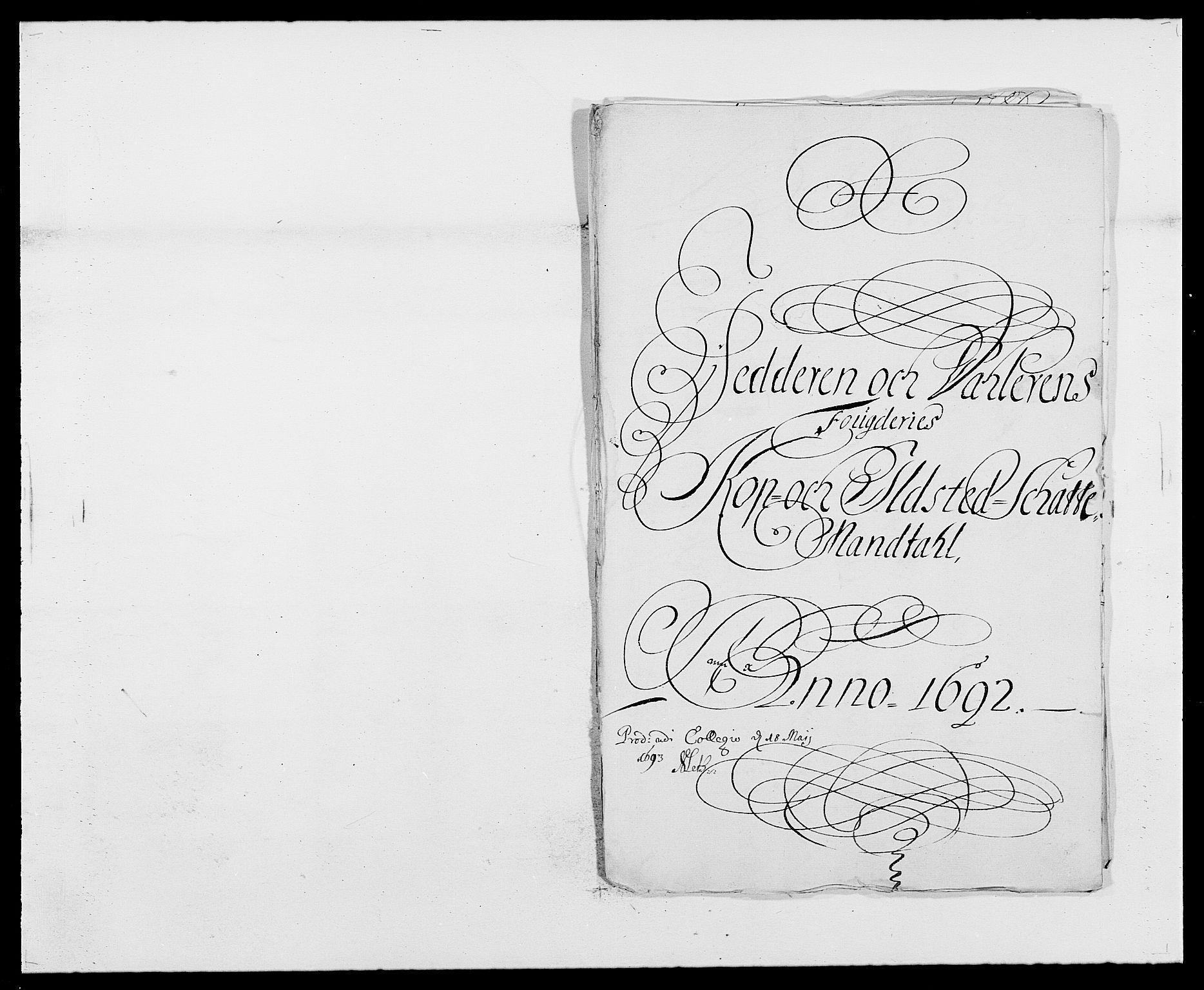 RA, Rentekammeret inntil 1814, Reviderte regnskaper, Fogderegnskap, R46/L2727: Fogderegnskap Jæren og Dalane, 1690-1693, s. 188