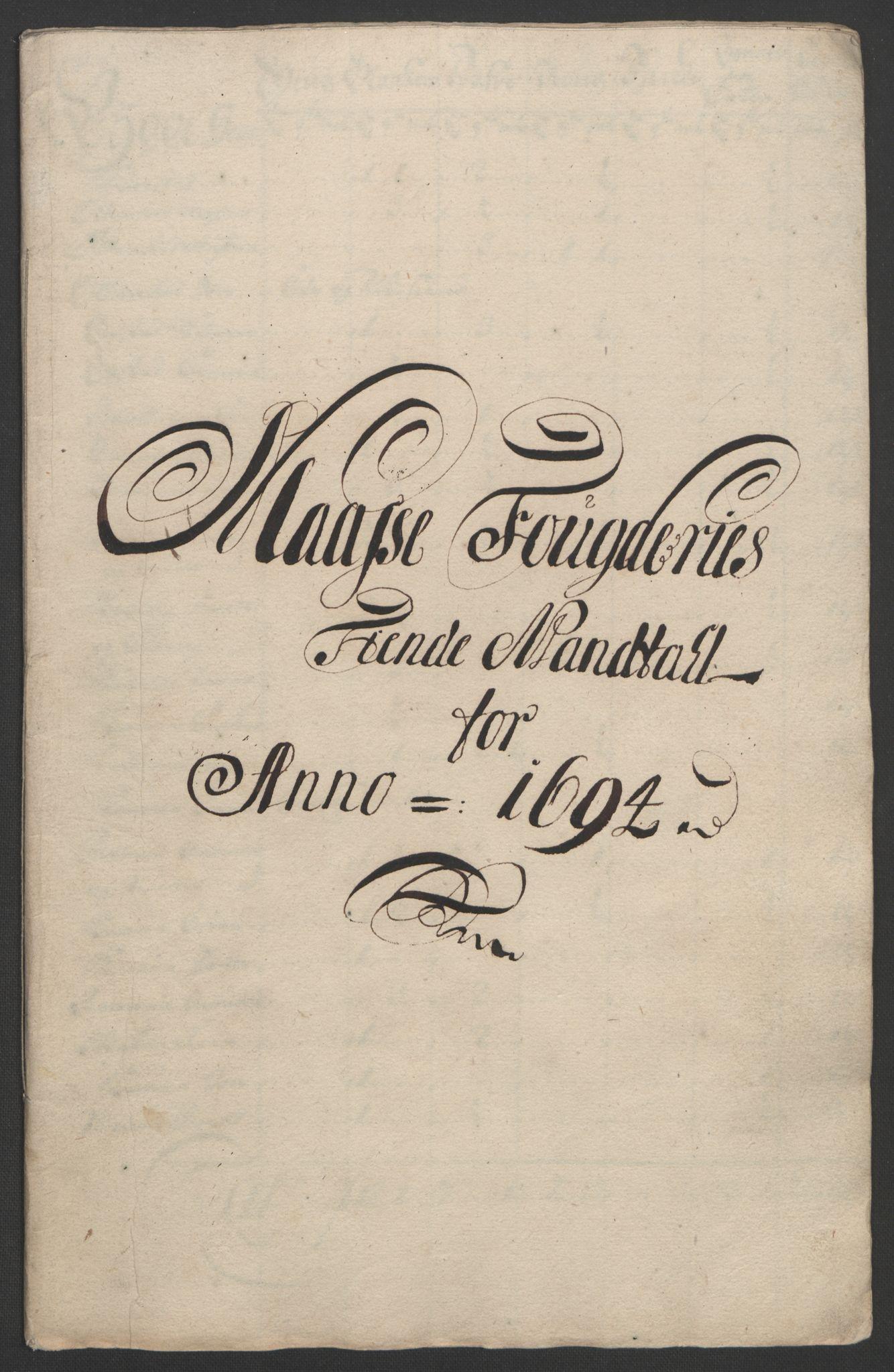 RA, Rentekammeret inntil 1814, Reviderte regnskaper, Fogderegnskap, R03/L0121: Fogderegnskap Onsøy, Tune, Veme og Åbygge fogderi, 1694, s. 81