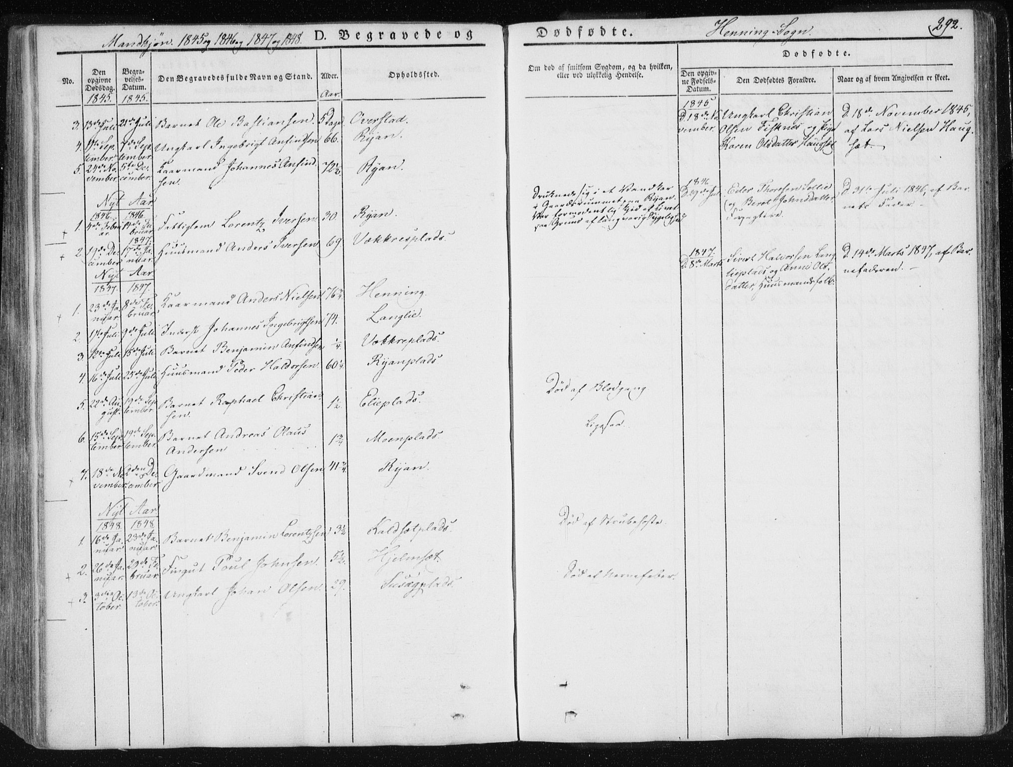 SAT, Ministerialprotokoller, klokkerbøker og fødselsregistre - Nord-Trøndelag, 735/L0339: Ministerialbok nr. 735A06 /3, 1836-1848, s. 292