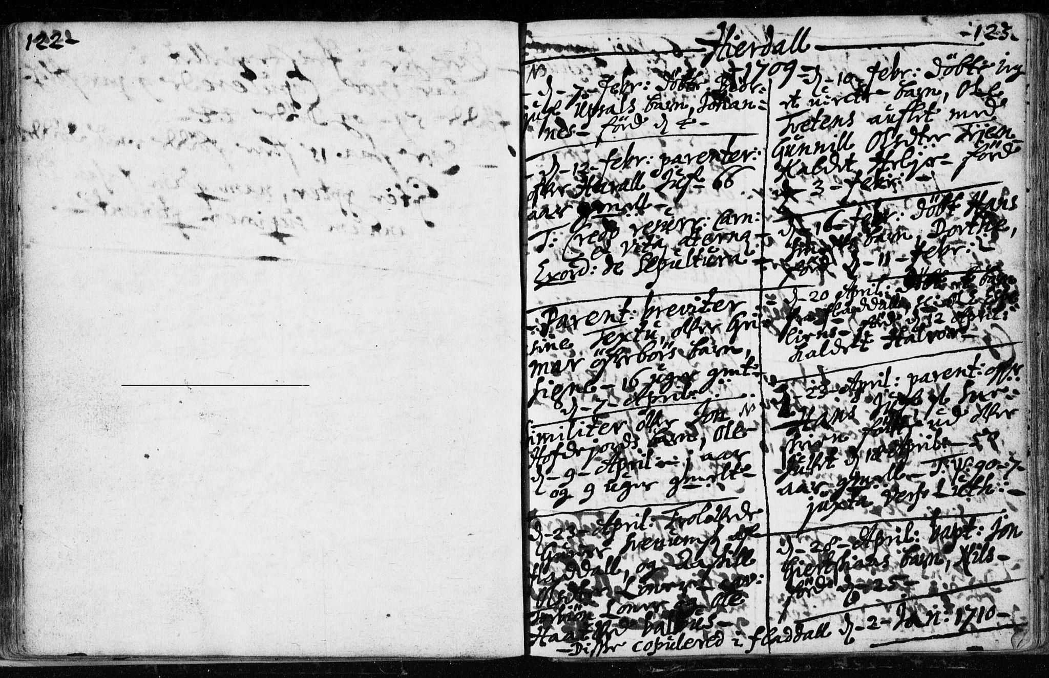 SAKO, Hjartdal kirkebøker, F/Fa/L0001: Ministerialbok nr. I 1, 1685-1714, s. 122-123