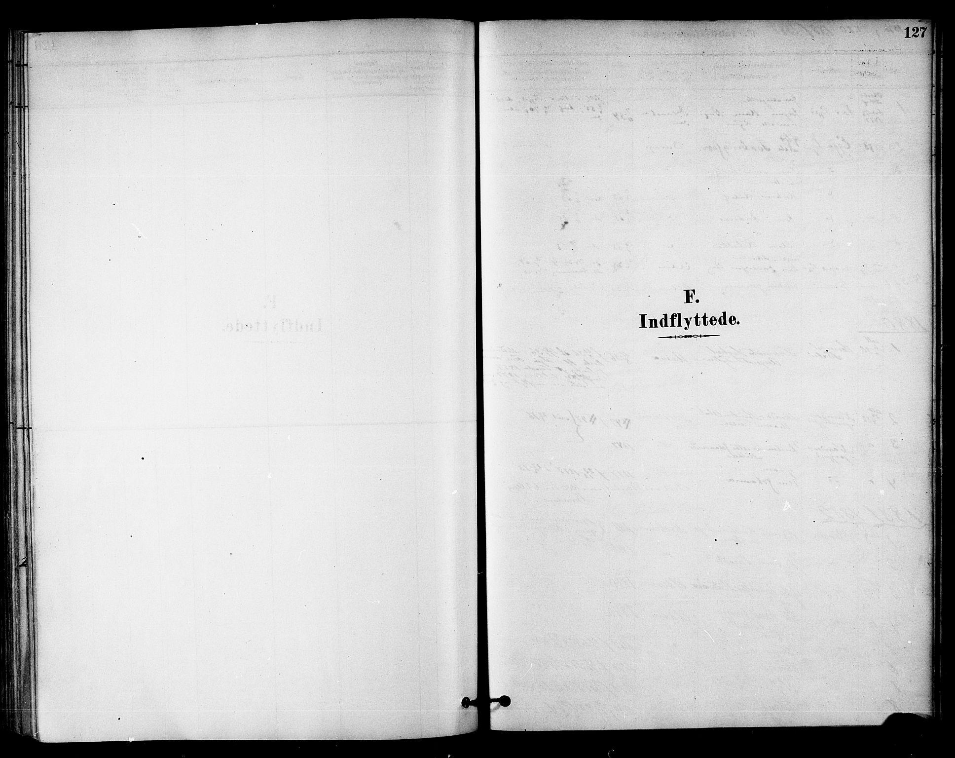 SAT, Ministerialprotokoller, klokkerbøker og fødselsregistre - Nord-Trøndelag, 742/L0408: Ministerialbok nr. 742A01, 1878-1890, s. 127
