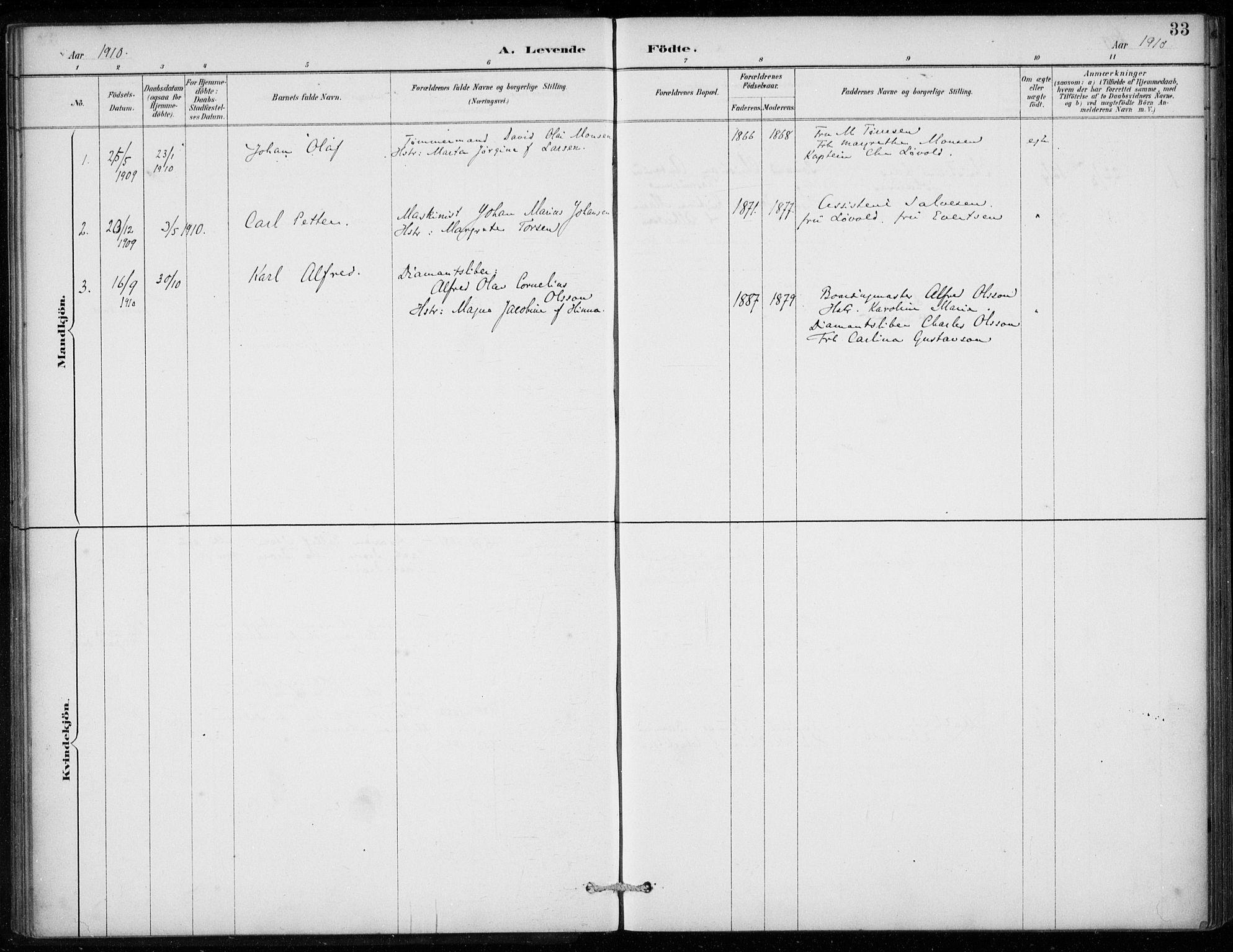 SAB, Den Norske Sjømannsmisjon i utlandet*, Ministerialbok nr. A 2, 1887-1913, s. 33