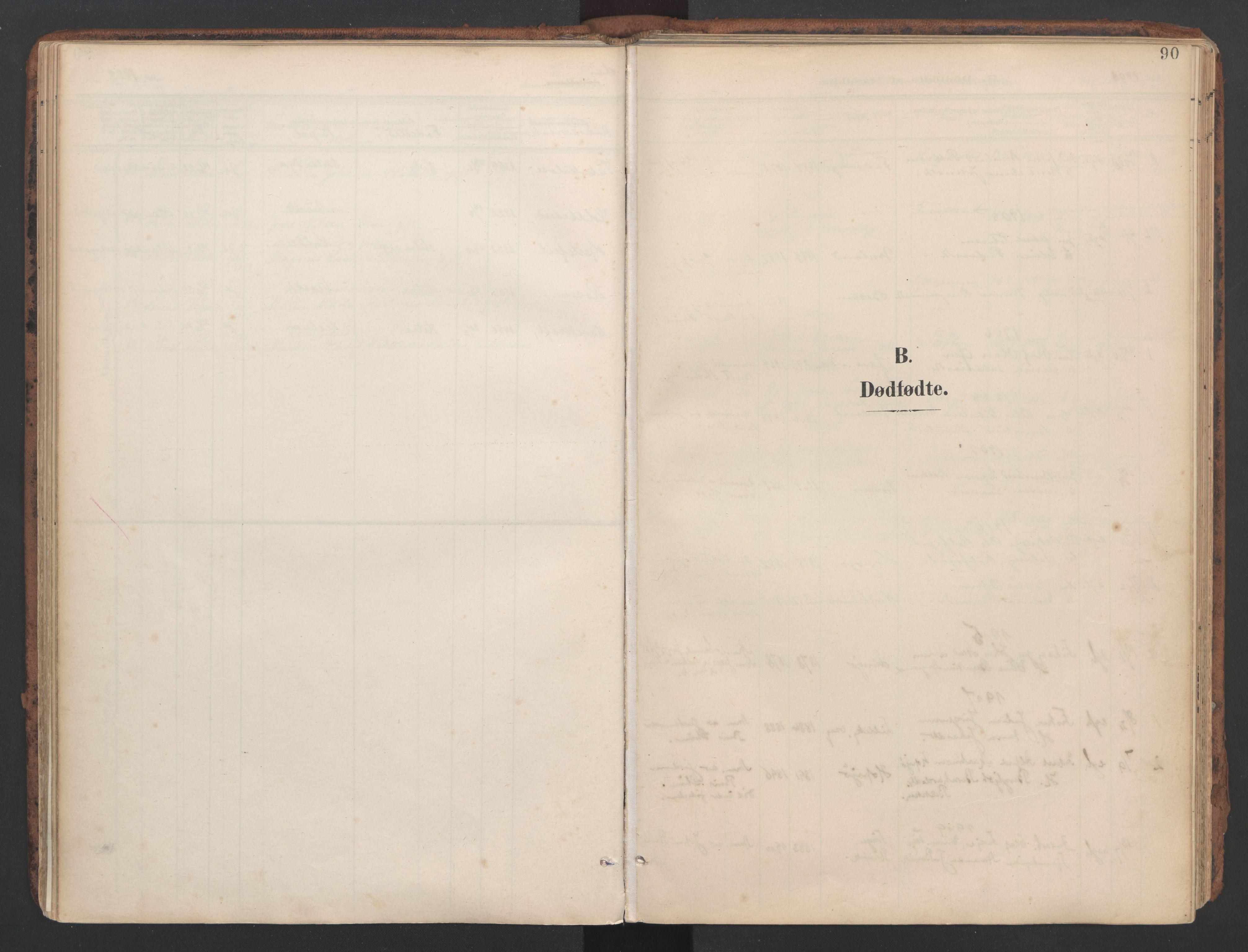 SAT, Ministerialprotokoller, klokkerbøker og fødselsregistre - Sør-Trøndelag, 634/L0537: Ministerialbok nr. 634A13, 1896-1922, s. 90
