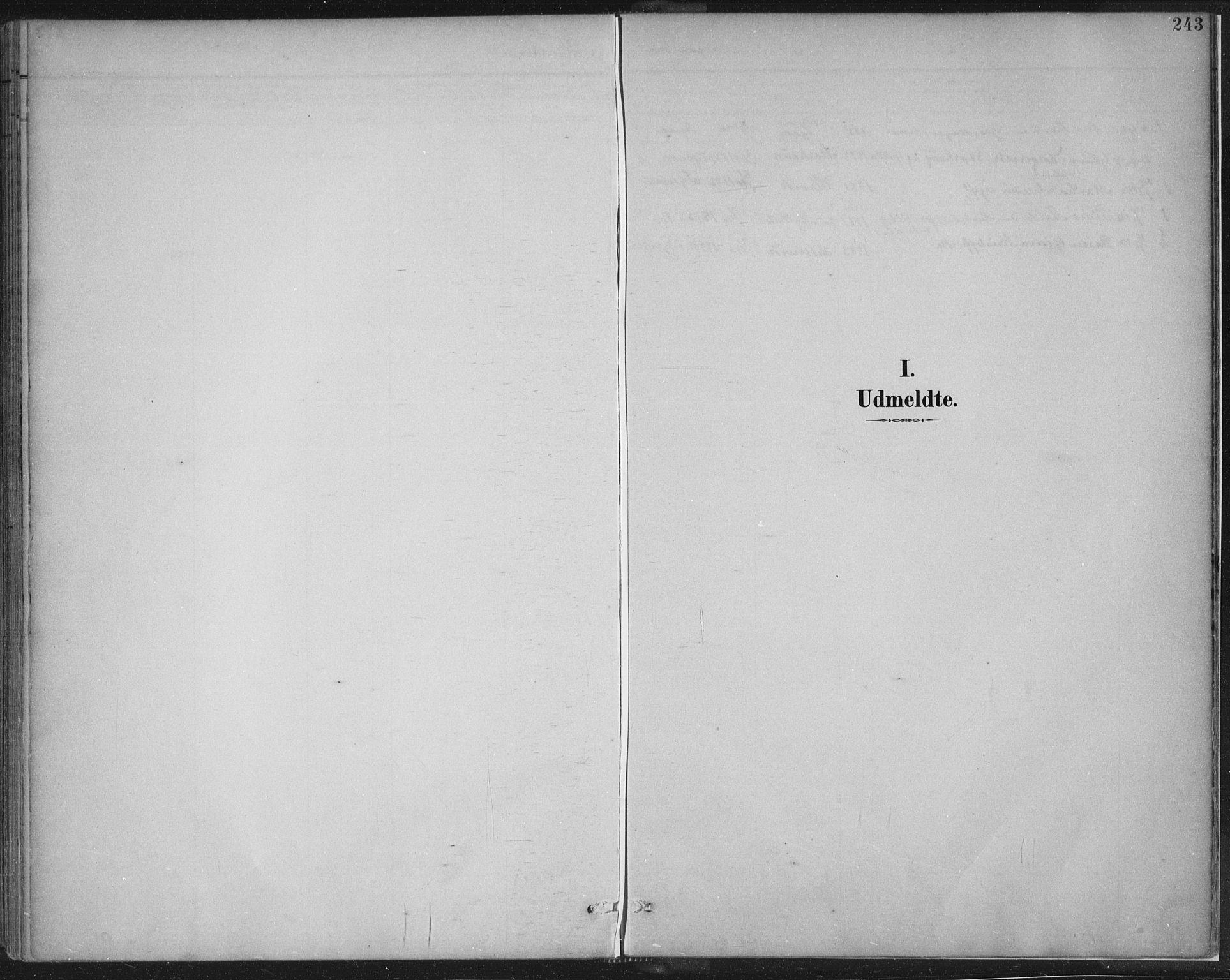 SAST, Tysvær sokneprestkontor, H/Ha/Haa/L0008: Ministerialbok nr. A 8, 1897-1918, s. 243
