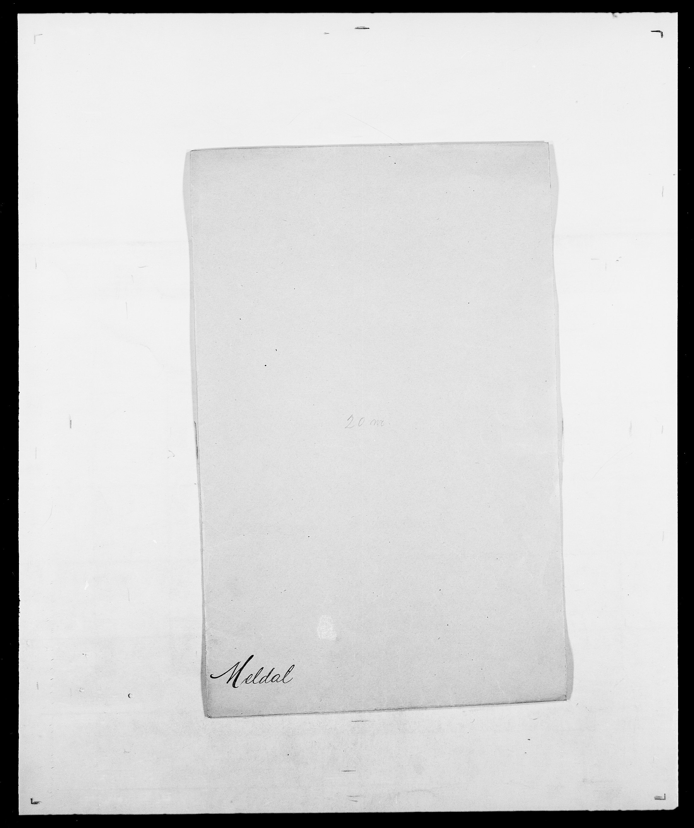 SAO, Delgobe, Charles Antoine - samling, D/Da/L0026: Mechelby - Montoppidan, s. 224