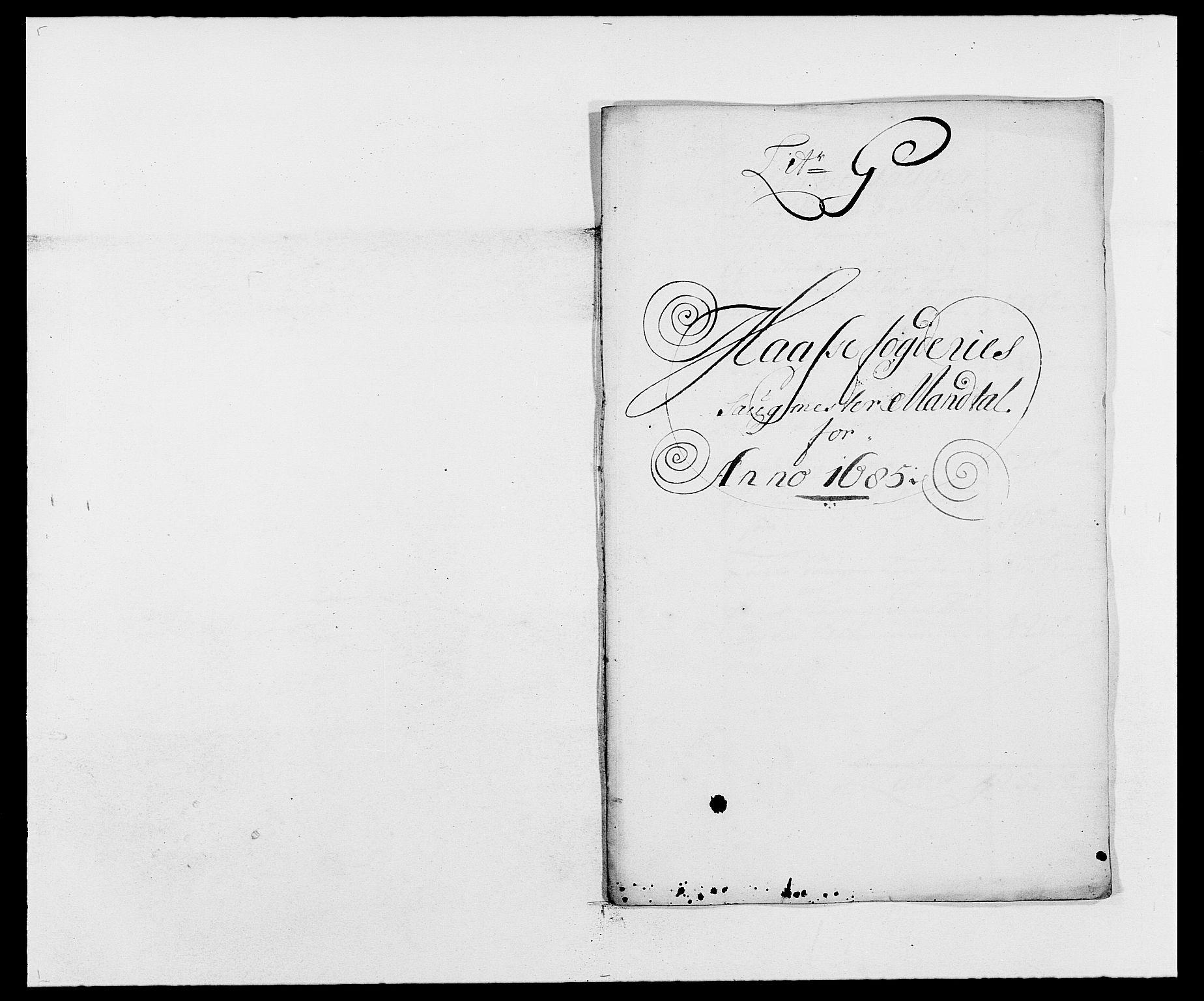 RA, Rentekammeret inntil 1814, Reviderte regnskaper, Fogderegnskap, R02/L0105: Fogderegnskap Moss og Verne kloster, 1685-1687, s. 92