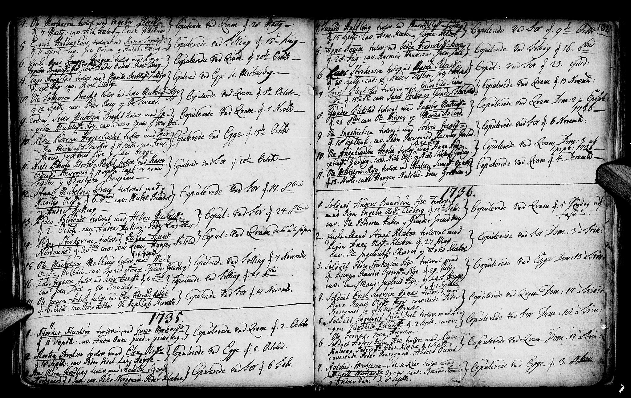 SAT, Ministerialprotokoller, klokkerbøker og fødselsregistre - Nord-Trøndelag, 746/L0439: Ministerialbok nr. 746A01, 1688-1759, s. 102