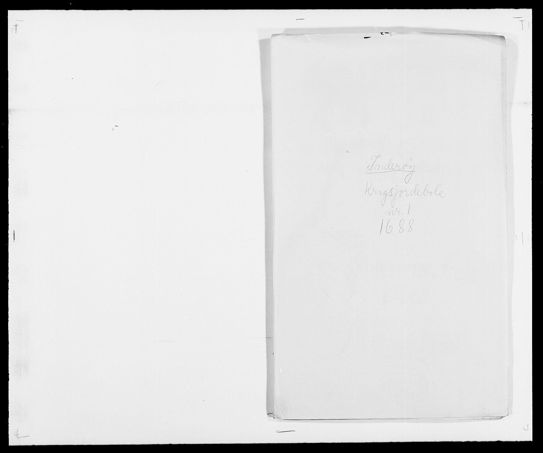 RA, Rentekammeret inntil 1814, Reviderte regnskaper, Fogderegnskap, R63/L4306: Fogderegnskap Inderøy, 1687-1689, s. 346