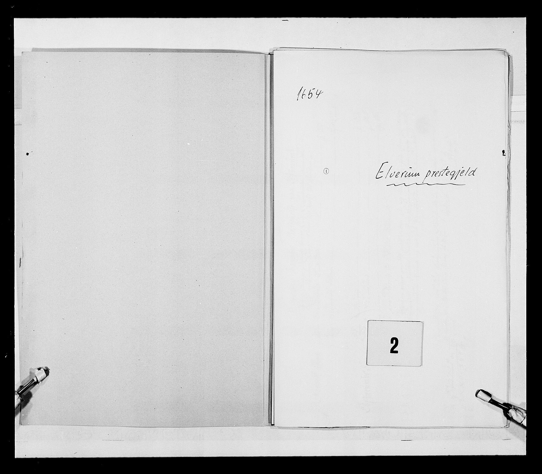 RA, Stattholderembetet 1572-1771, Ek/L0030: Jordebøker 1633-1658:, 1654, s. 2