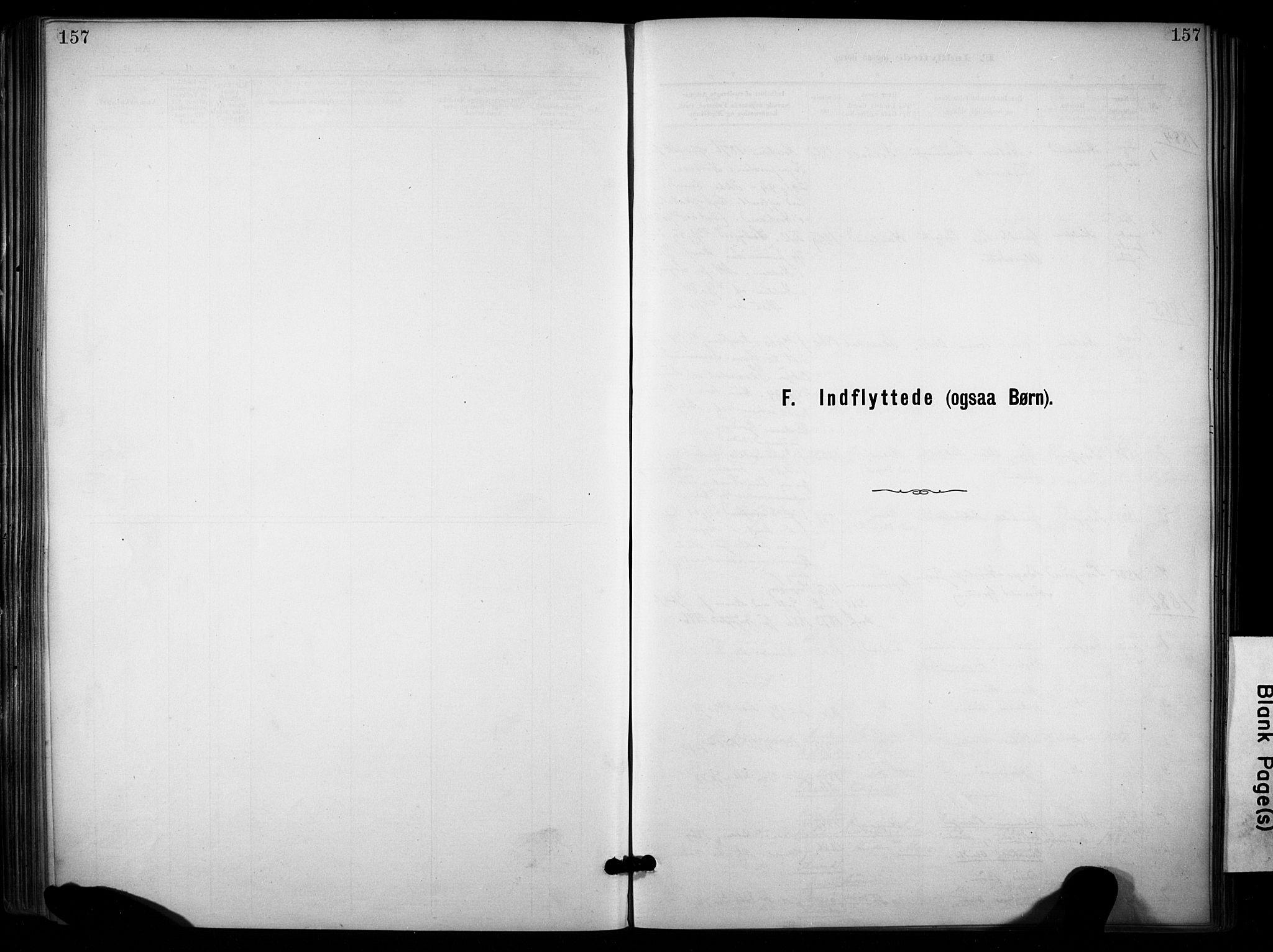 SAKO, Lunde kirkebøker, F/Fa/L0002: Ministerialbok nr. I 2, 1884-1892, s. 157