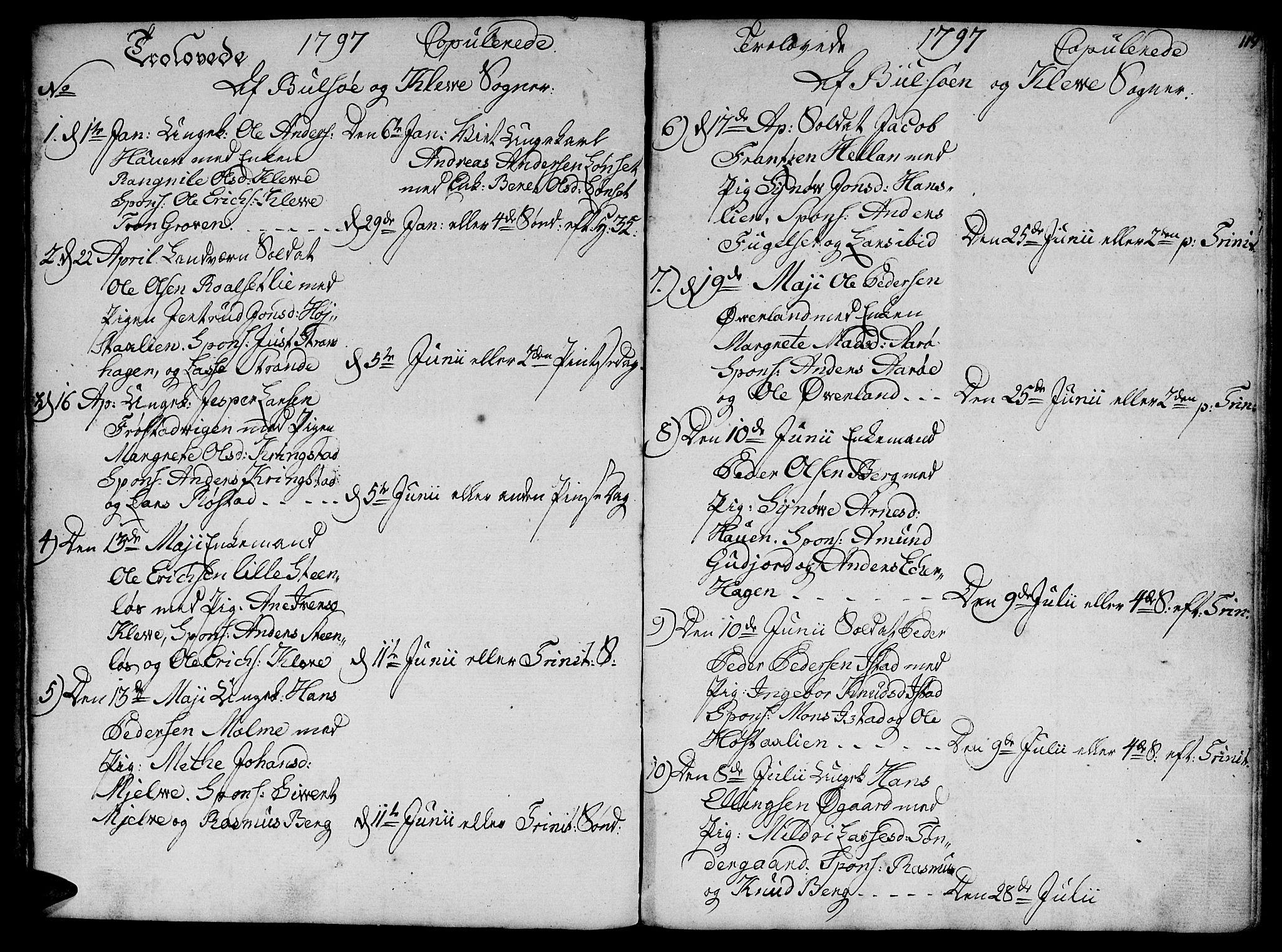 SAT, Ministerialprotokoller, klokkerbøker og fødselsregistre - Møre og Romsdal, 555/L0649: Ministerialbok nr. 555A02 /1, 1795-1821, s. 119