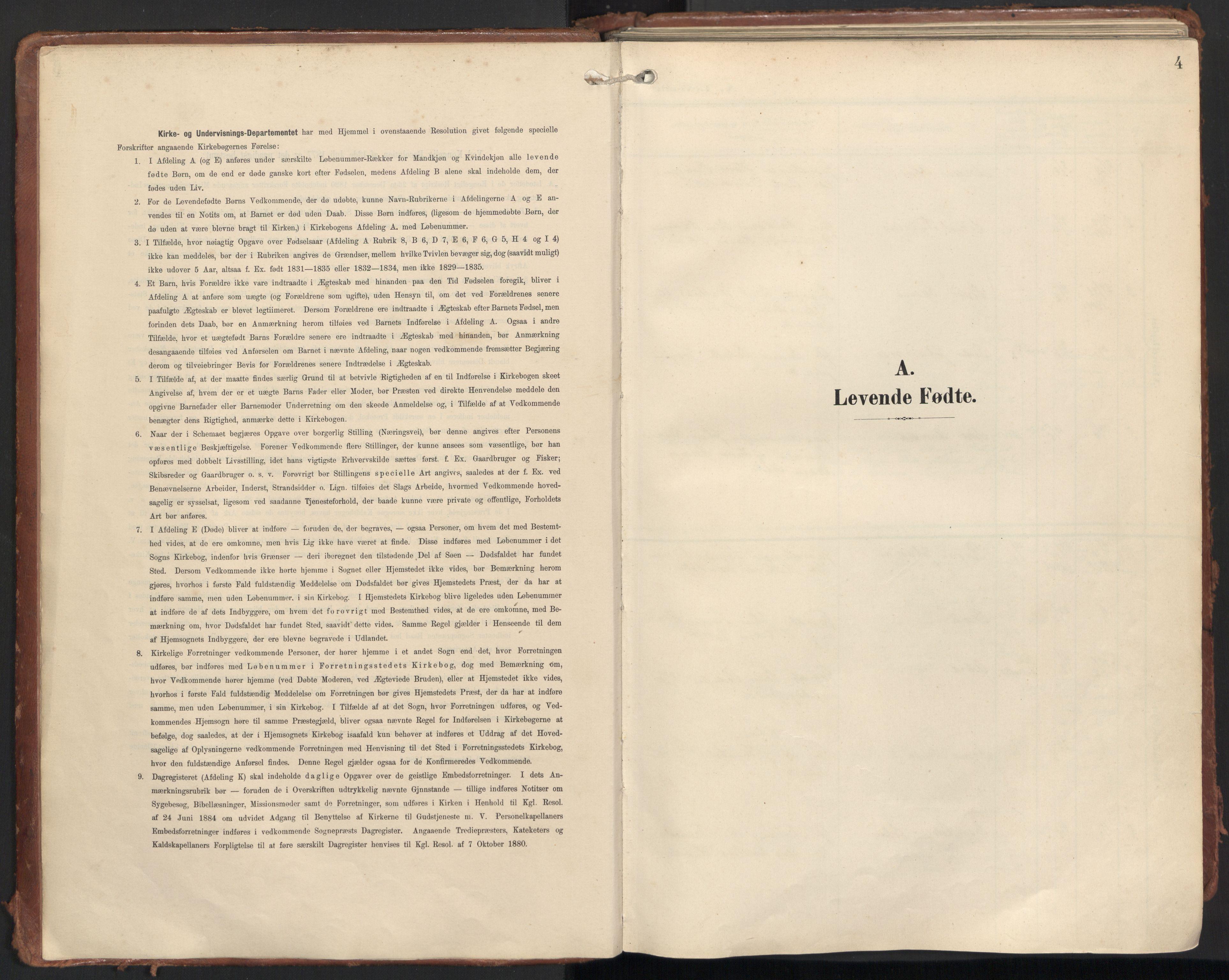 SAT, Ministerialprotokoller, klokkerbøker og fødselsregistre - Møre og Romsdal, 501/L0011: Ministerialbok nr. 501A11, 1902-1919, s. 4