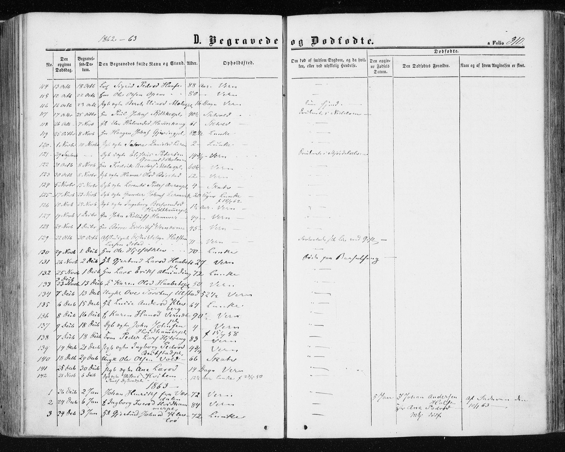 SAT, Ministerialprotokoller, klokkerbøker og fødselsregistre - Nord-Trøndelag, 709/L0075: Ministerialbok nr. 709A15, 1859-1870, s. 310