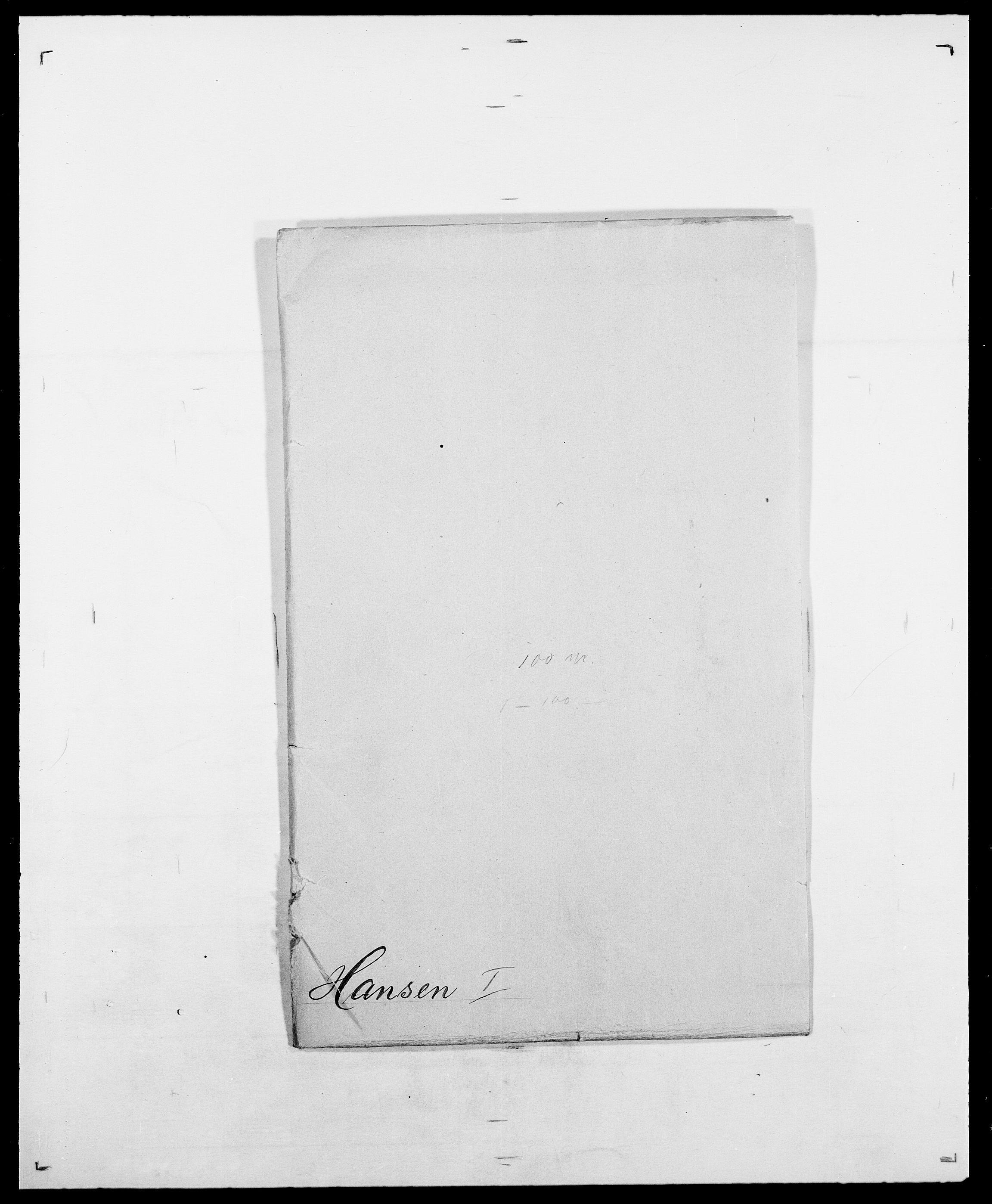 SAO, Delgobe, Charles Antoine - samling, D/Da/L0016: Hamborg - Hektoen, s. 134