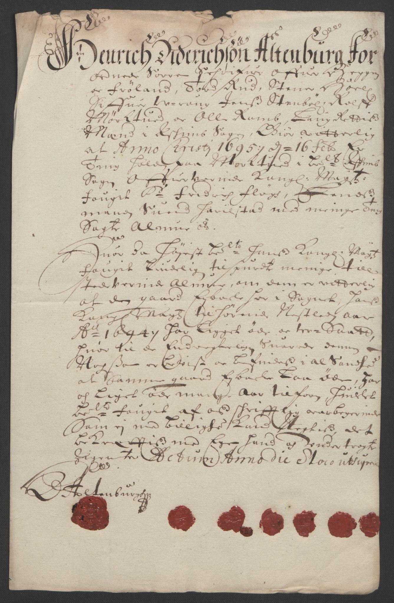 RA, Rentekammeret inntil 1814, Reviderte regnskaper, Fogderegnskap, R07/L0284: Fogderegnskap Rakkestad, Heggen og Frøland, 1694, s. 309