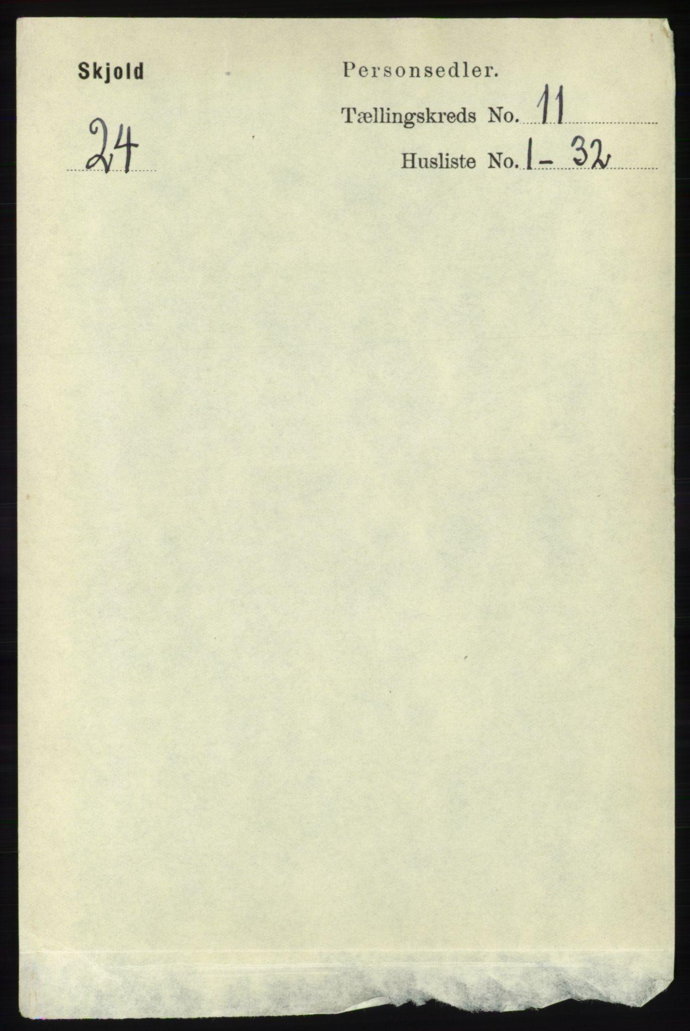 RA, Folketelling 1891 for 1154 Skjold herred, 1891, s. 2069