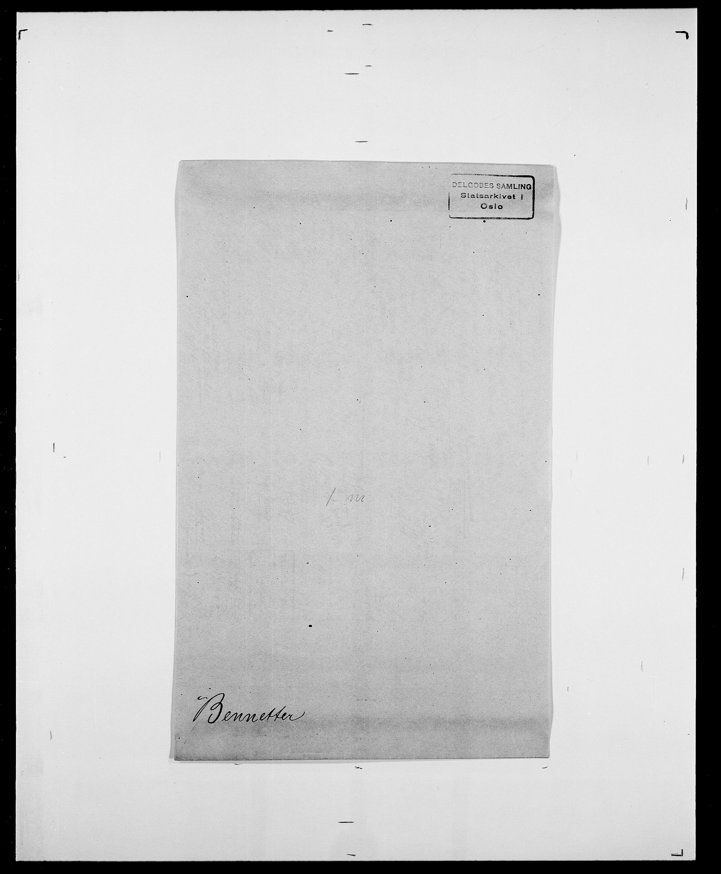 SAO, Delgobe, Charles Antoine - samling, D/Da/L0003: Barca - Bergen, s. 782