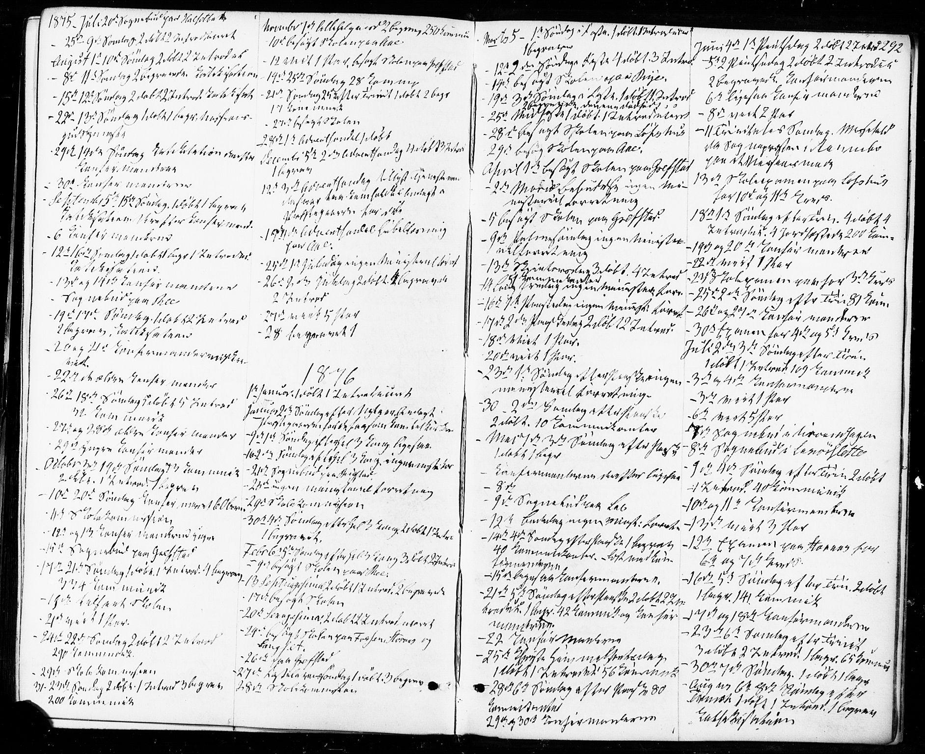 SAT, Ministerialprotokoller, klokkerbøker og fødselsregistre - Sør-Trøndelag, 672/L0856: Ministerialbok nr. 672A08, 1861-1881, s. 292