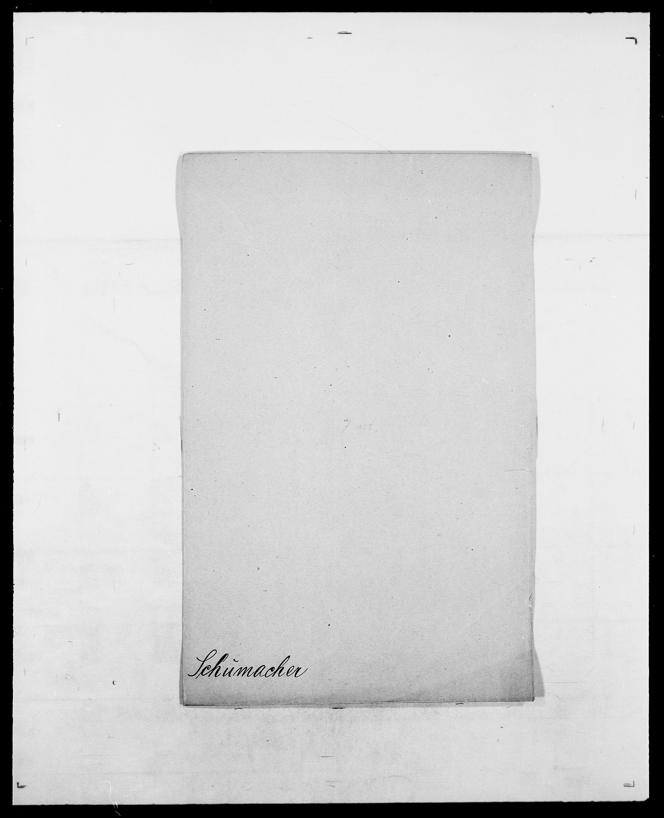 SAO, Delgobe, Charles Antoine - samling, D/Da/L0035: Schnabel - sjetman, s. 343