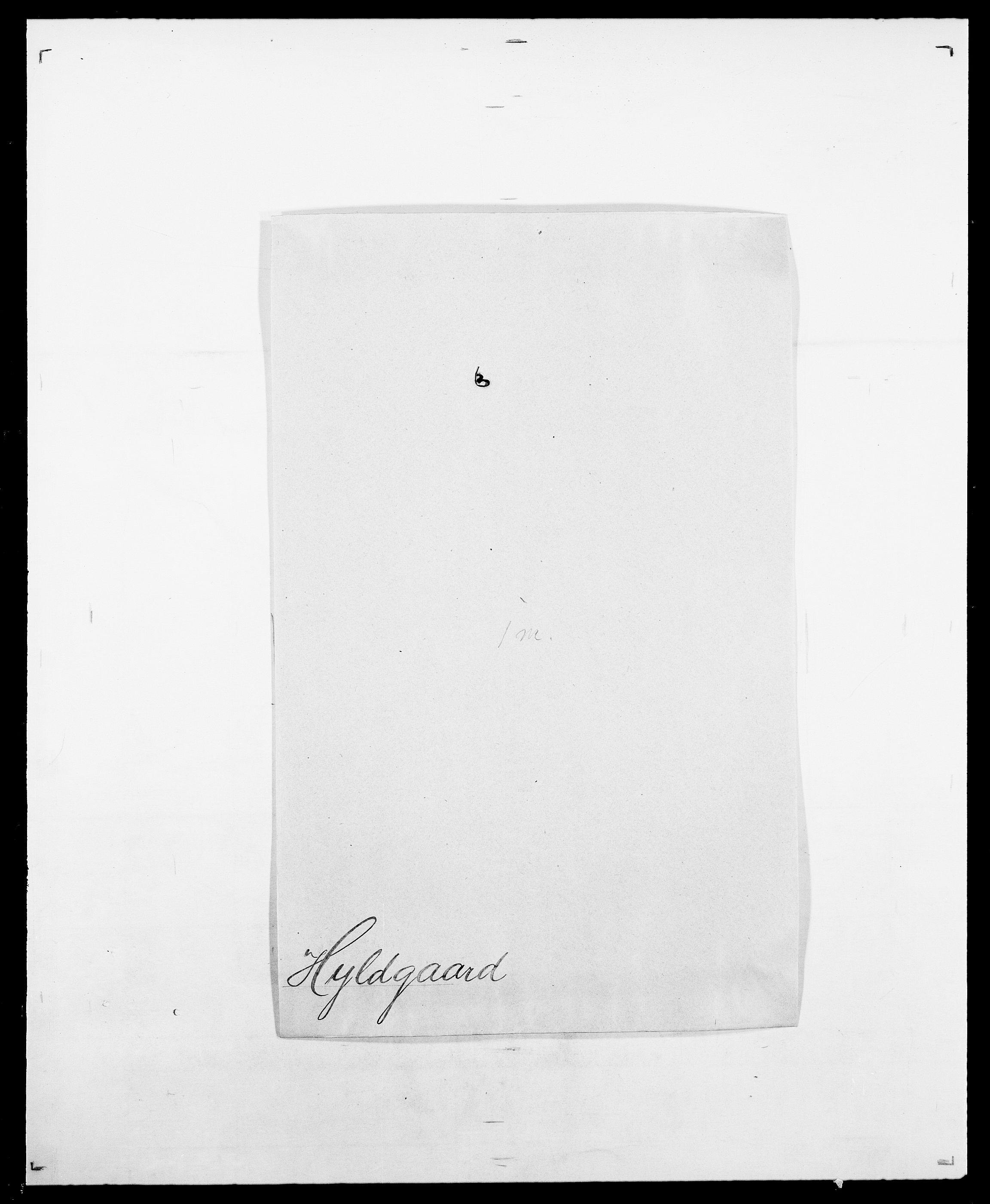 SAO, Delgobe, Charles Antoine - samling, D/Da/L0019: van der Hude - Joys, s. 262
