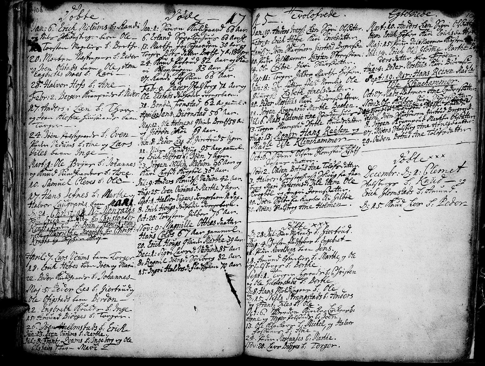 SAH, Øyer prestekontor, Ministerialbok nr. 1, 1671-1727, s. 108-109