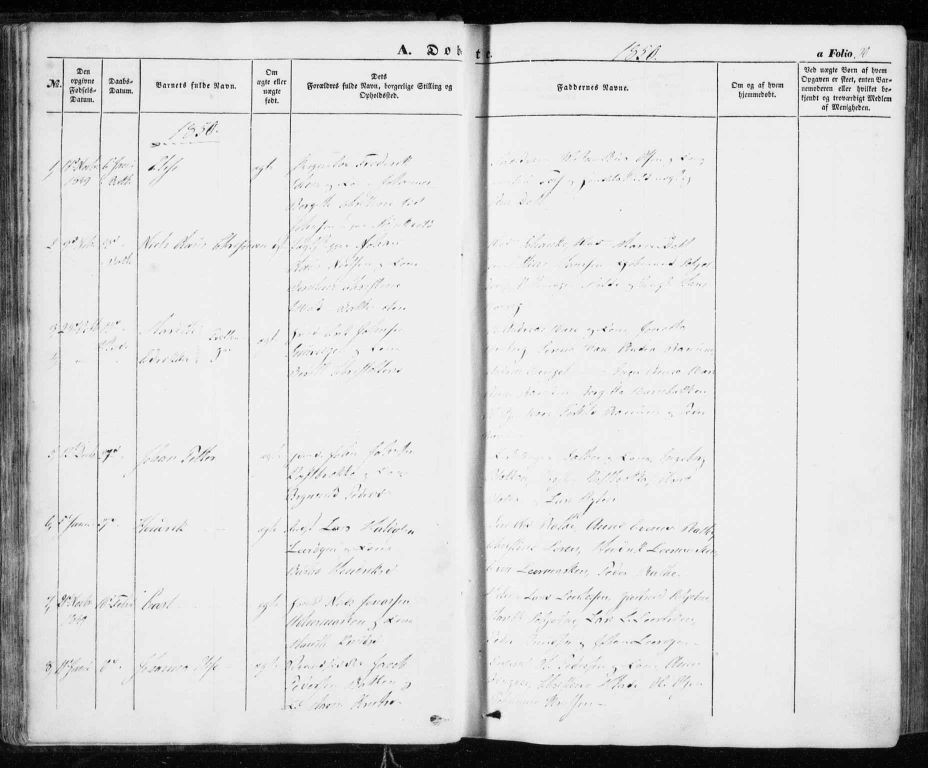 SAT, Ministerialprotokoller, klokkerbøker og fødselsregistre - Sør-Trøndelag, 606/L0291: Ministerialbok nr. 606A06, 1848-1856, s. 30