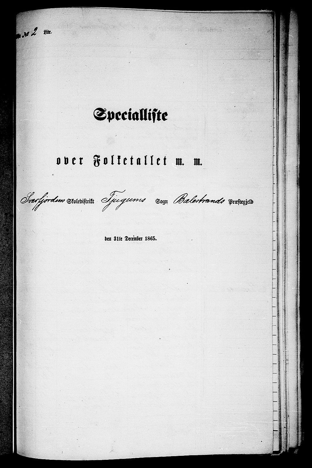 RA, Folketelling 1865 for 1418P Balestrand prestegjeld, 1865, s. 28