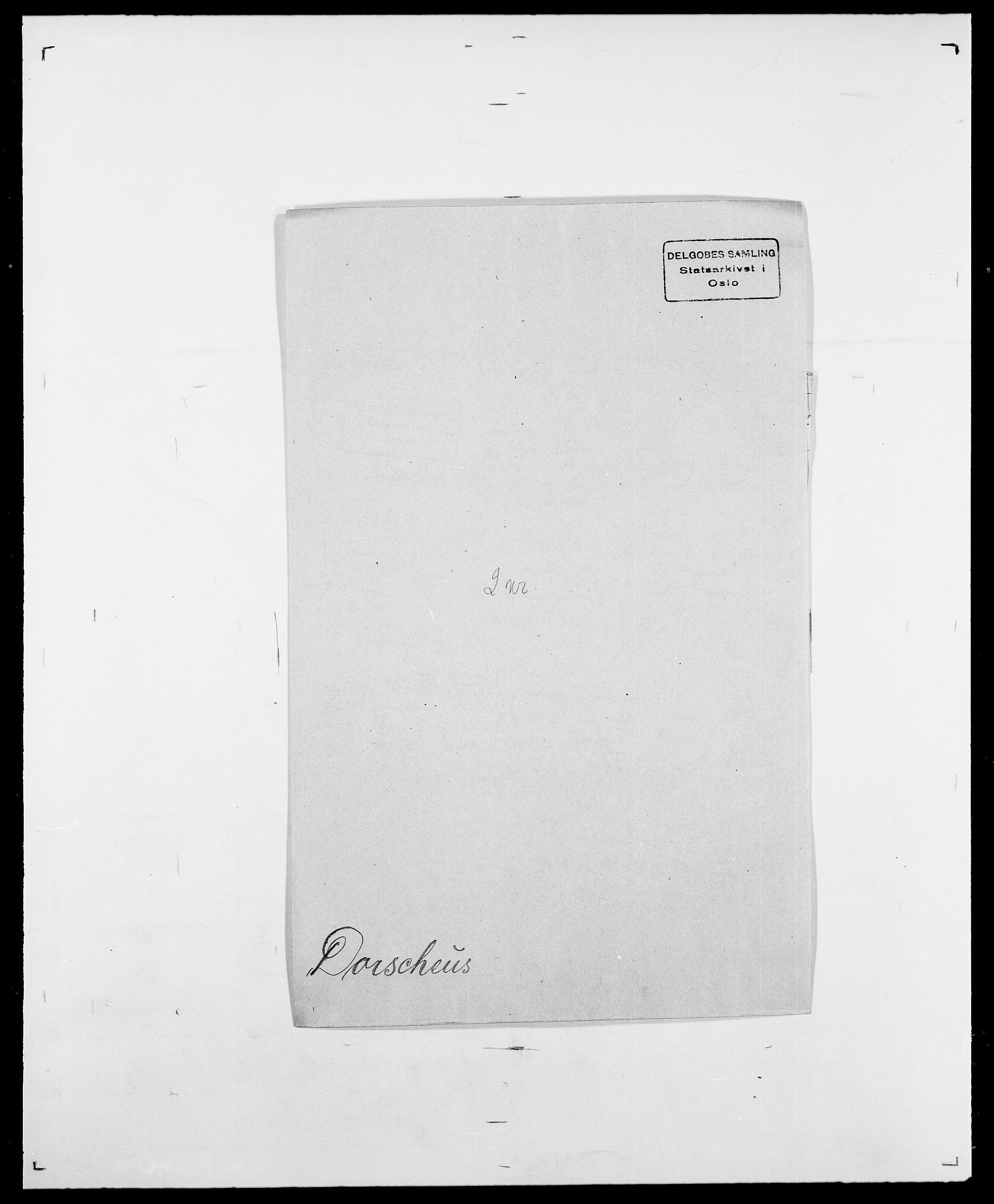 SAO, Delgobe, Charles Antoine - samling, D/Da/L0009: Dahl - v. Düren, s. 699