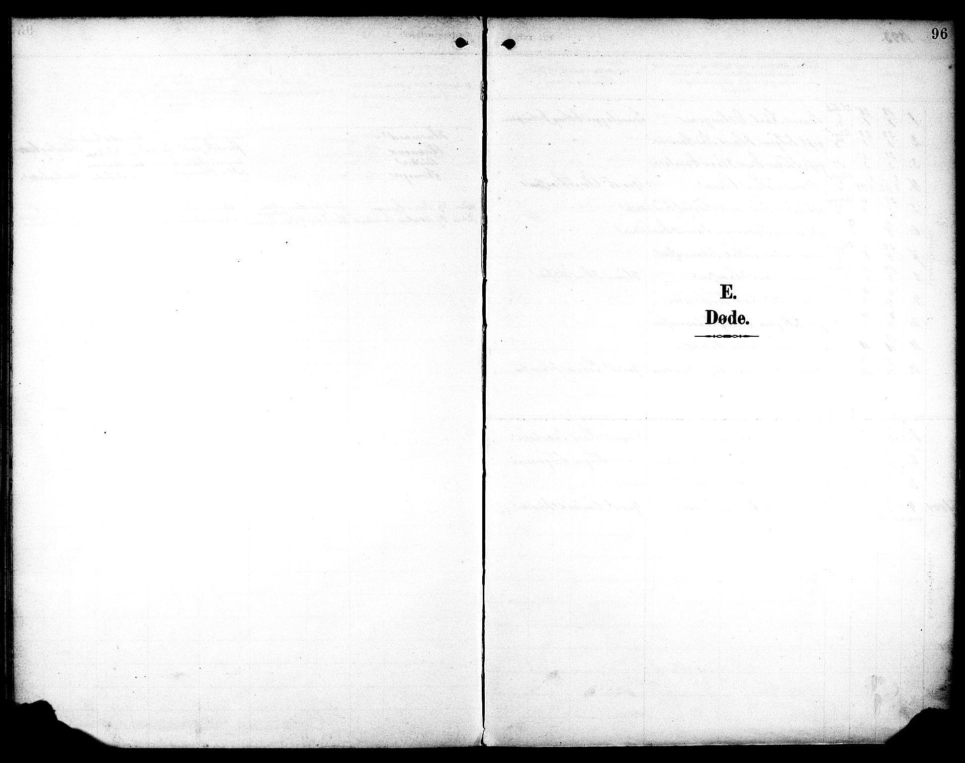 SAST, Egersund sokneprestkontor, Ministerialbok nr. A 19, 1893-1910, s. 96