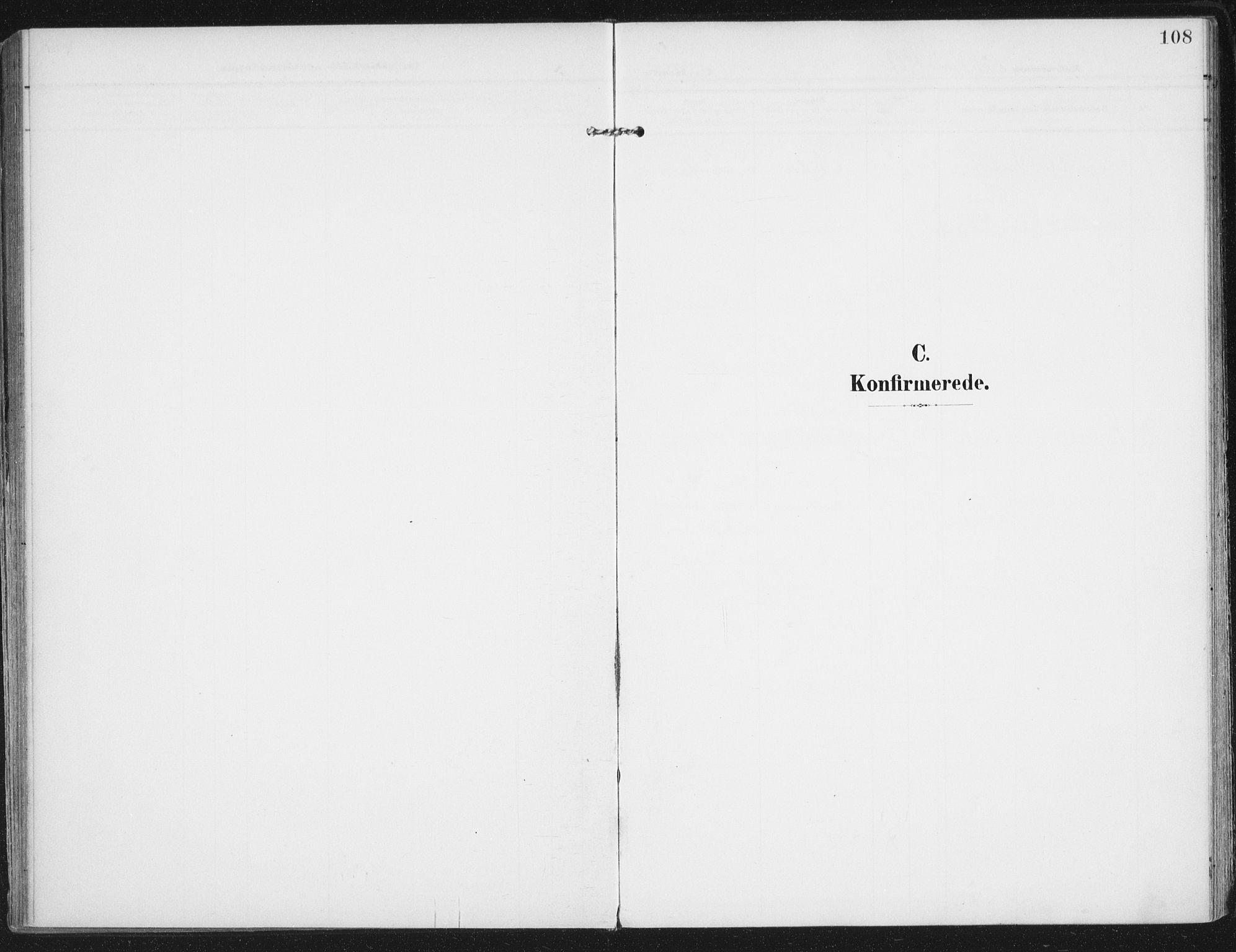 SAT, Ministerialprotokoller, klokkerbøker og fødselsregistre - Nordland, 892/L1321: Ministerialbok nr. 892A02, 1902-1918, s. 108