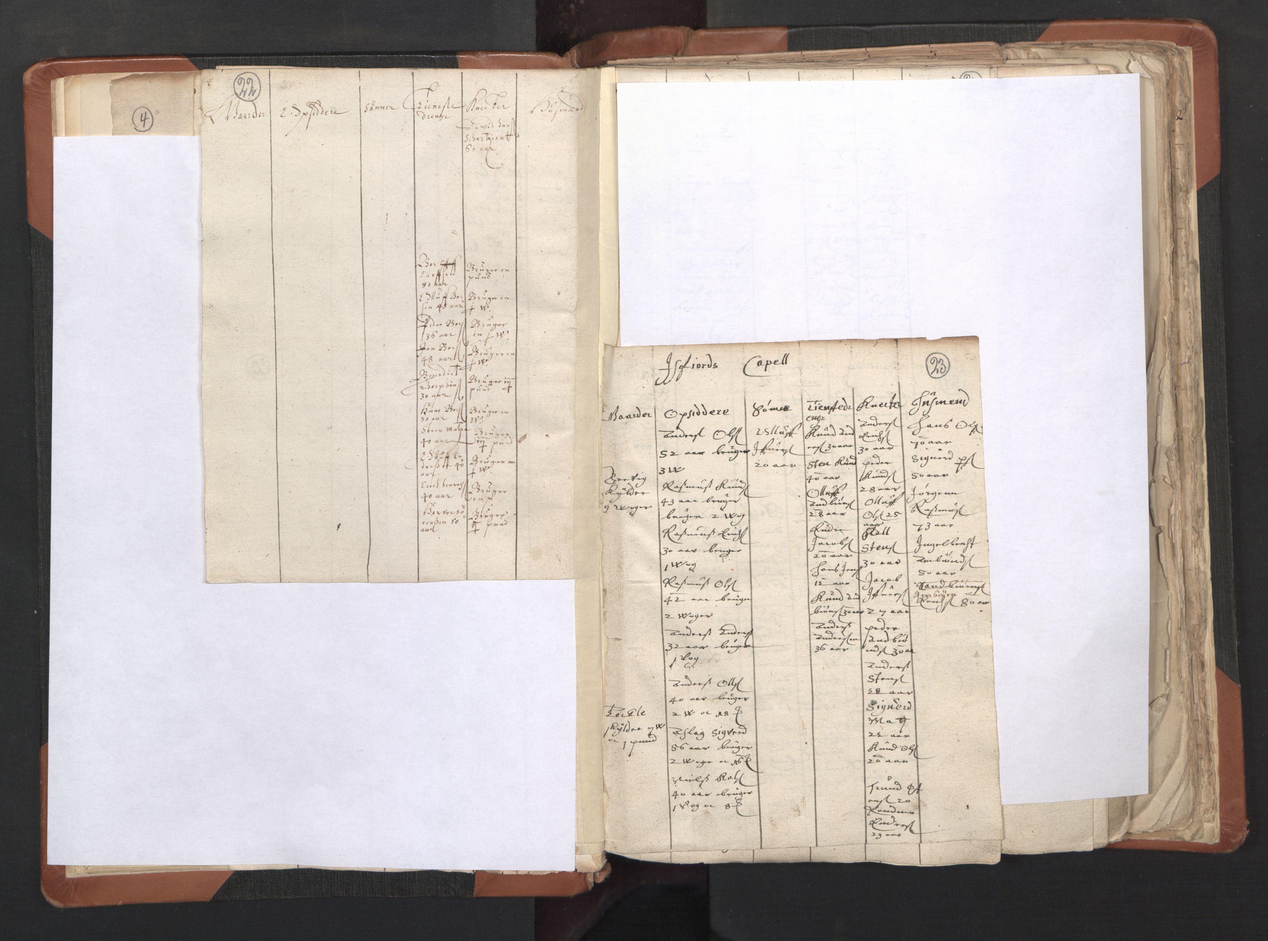 RA, Sogneprestenes manntall 1664-1666, nr. 27: Romsdal prosti, 1664-1666, s. 22-23