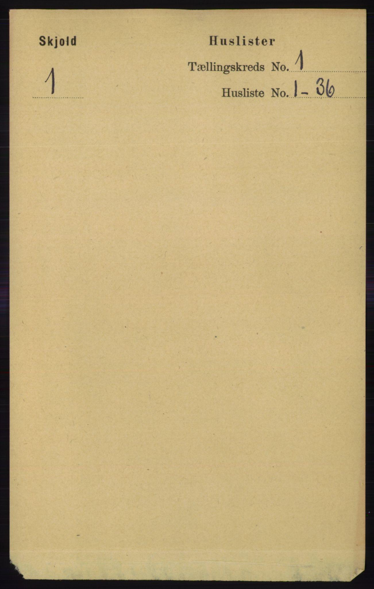 RA, Folketelling 1891 for 1154 Skjold herred, 1891, s. 34