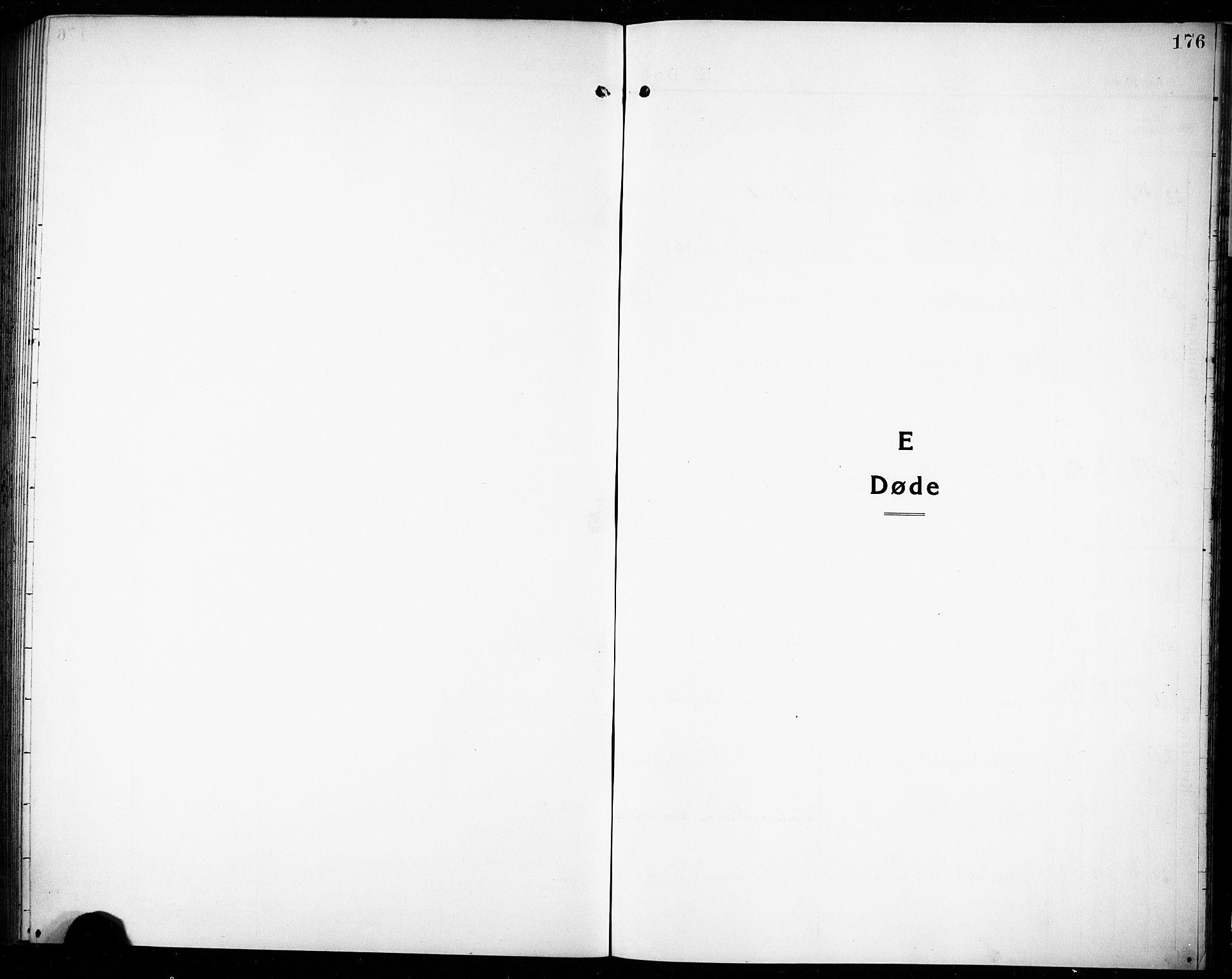SAKO, Rjukan kirkebøker, G/Ga/L0003: Klokkerbok nr. 3, 1920-1928, s. 176